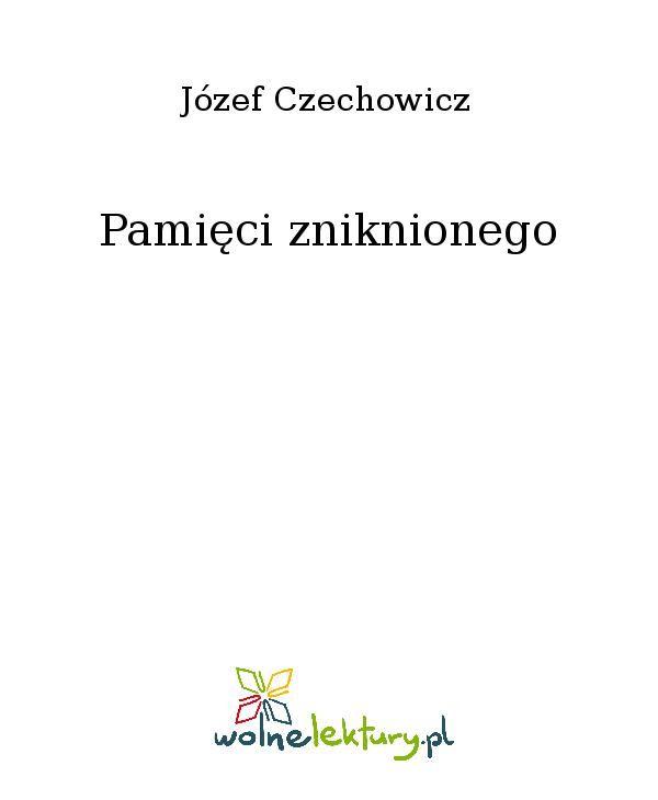 Pamięci zniknionego - Ebook (Książka EPUB) do pobrania w formacie EPUB