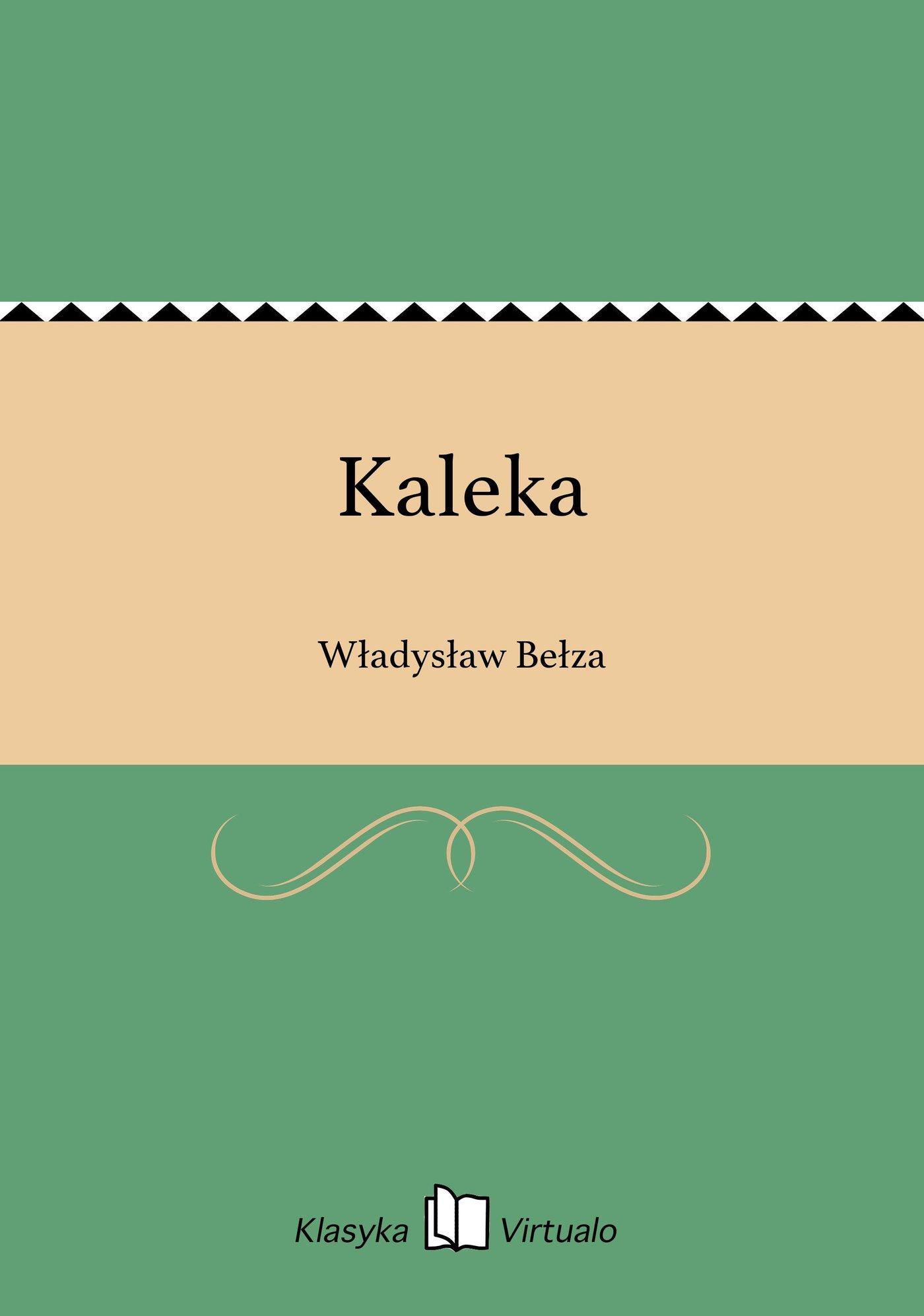 Kaleka - Ebook (Książka EPUB) do pobrania w formacie EPUB