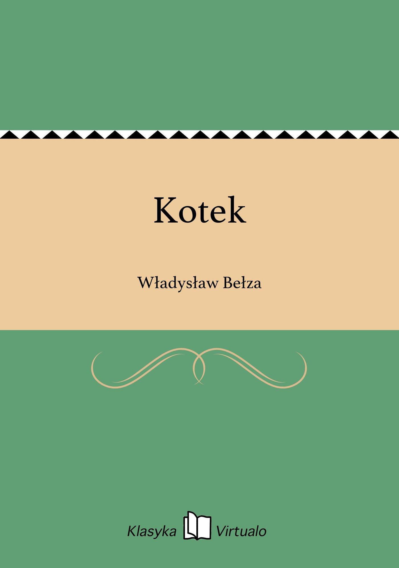 Kotek - Ebook (Książka EPUB) do pobrania w formacie EPUB