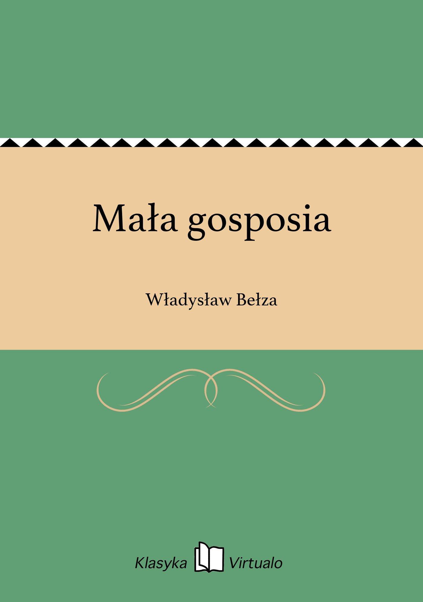 Mała gosposia - Ebook (Książka EPUB) do pobrania w formacie EPUB