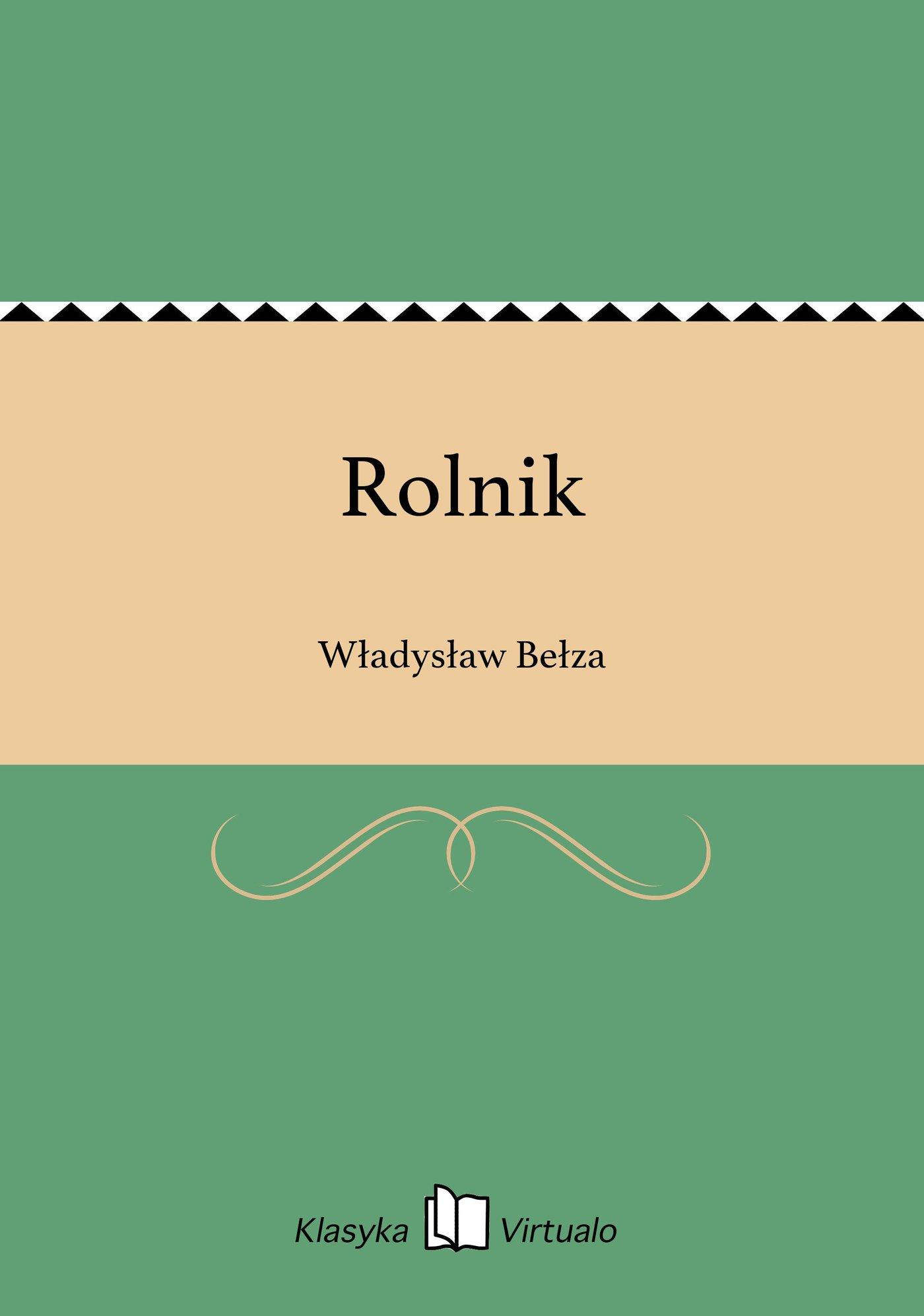 Rolnik - Ebook (Książka EPUB) do pobrania w formacie EPUB