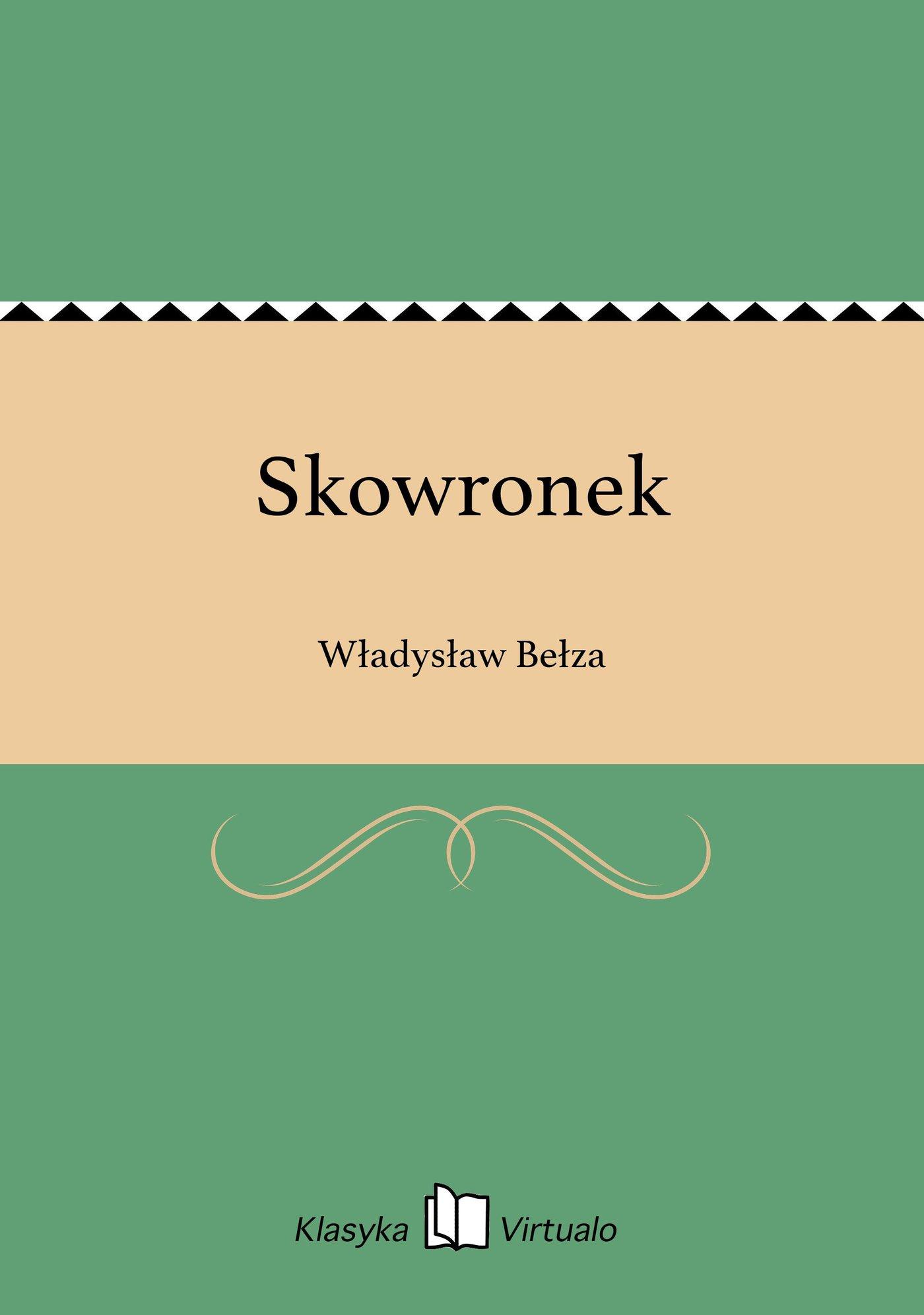 Skowronek - Ebook (Książka EPUB) do pobrania w formacie EPUB