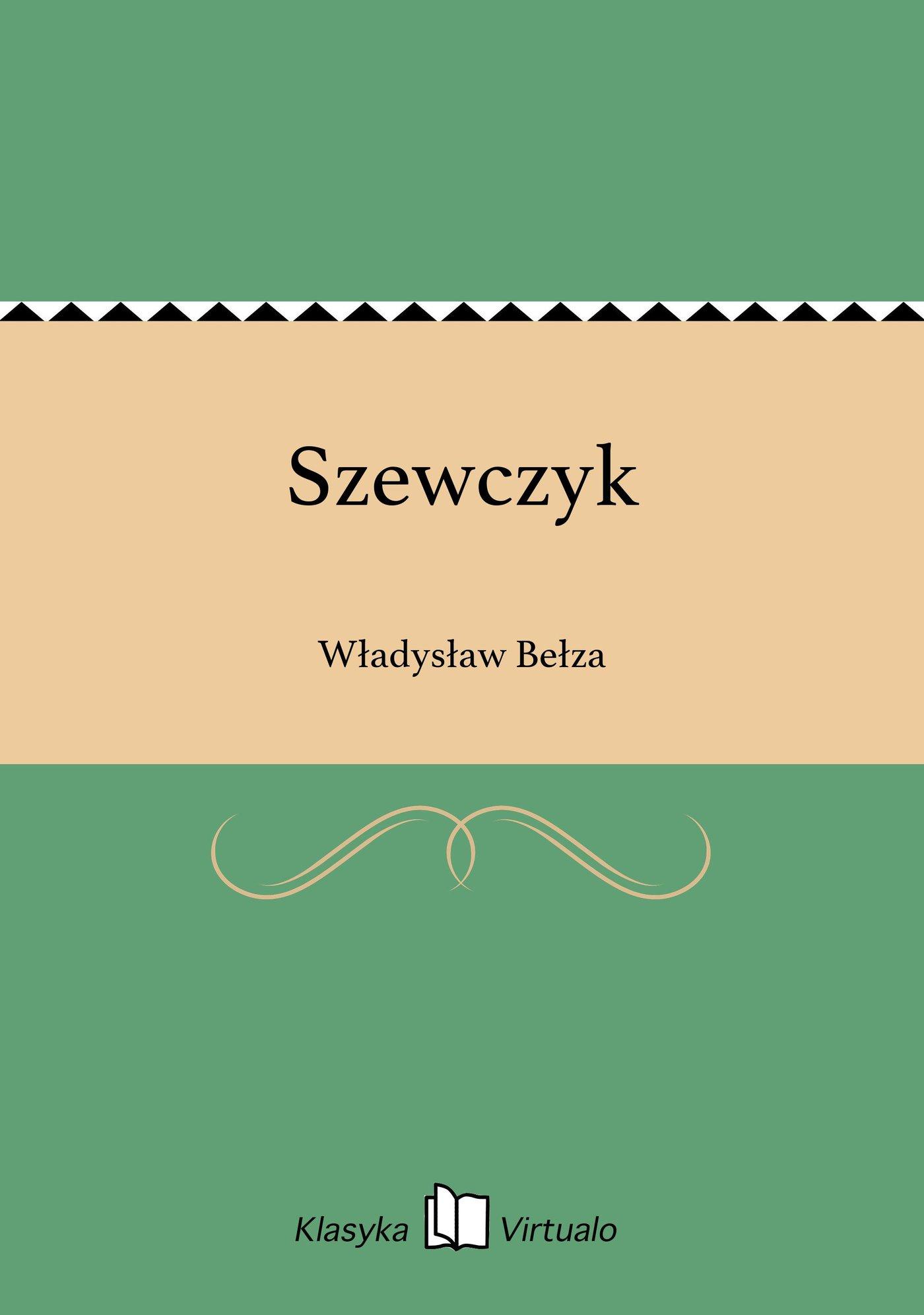 Szewczyk - Ebook (Książka EPUB) do pobrania w formacie EPUB