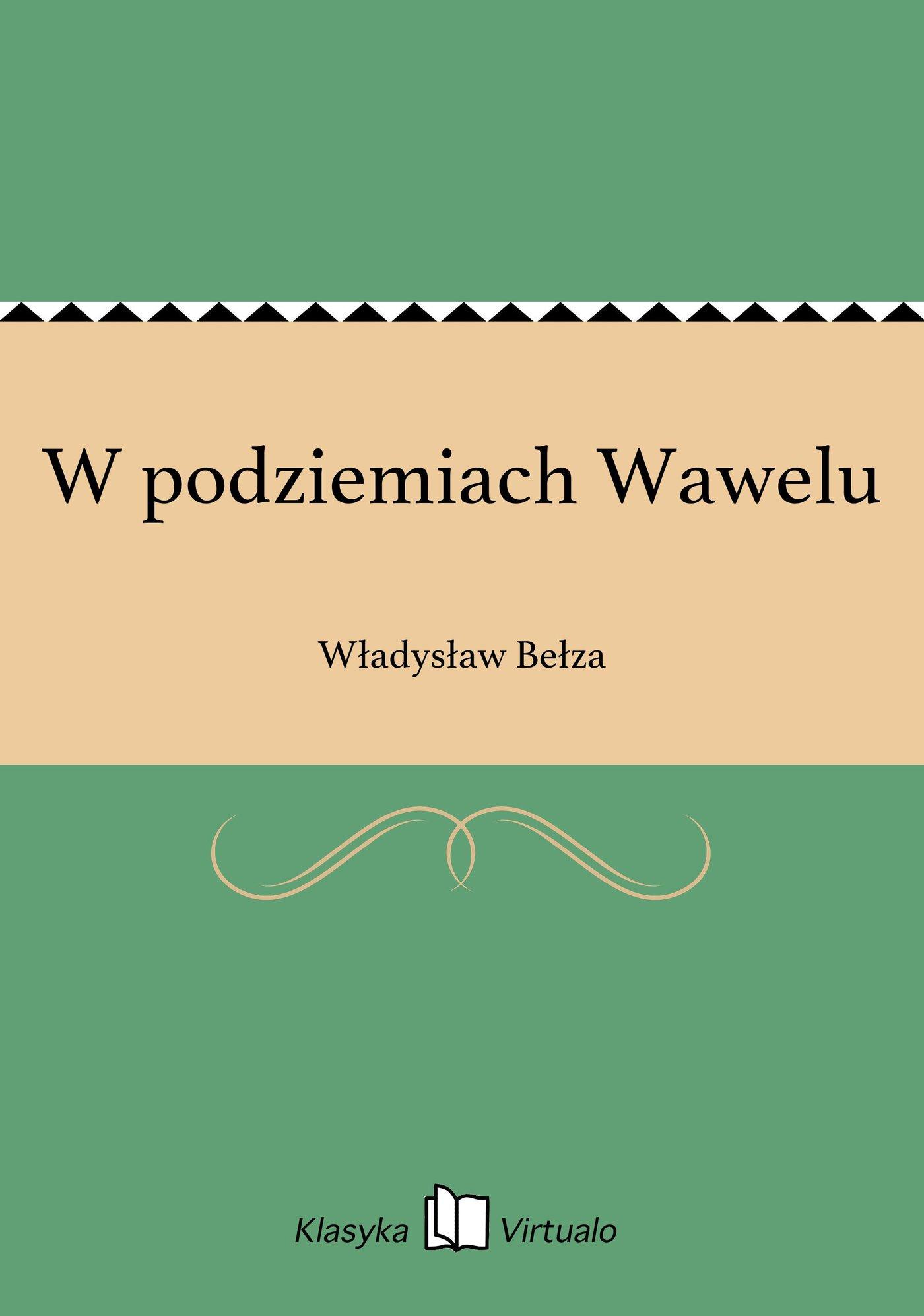 W podziemiach Wawelu - Ebook (Książka EPUB) do pobrania w formacie EPUB