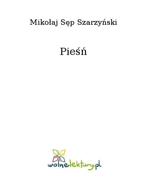 Pieśń - Ebook (Książka EPUB) do pobrania w formacie EPUB