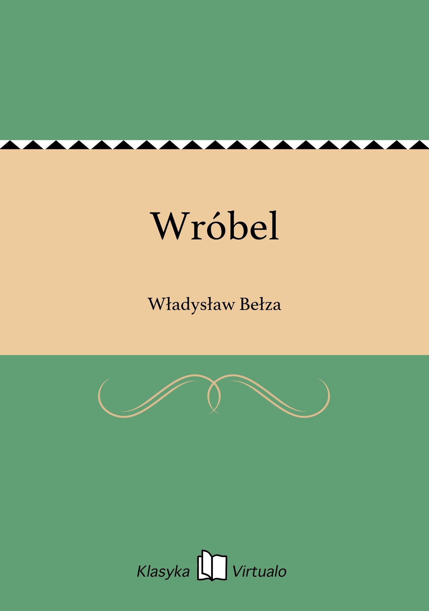 Wróbel - Ebook (Książka EPUB) do pobrania w formacie EPUB