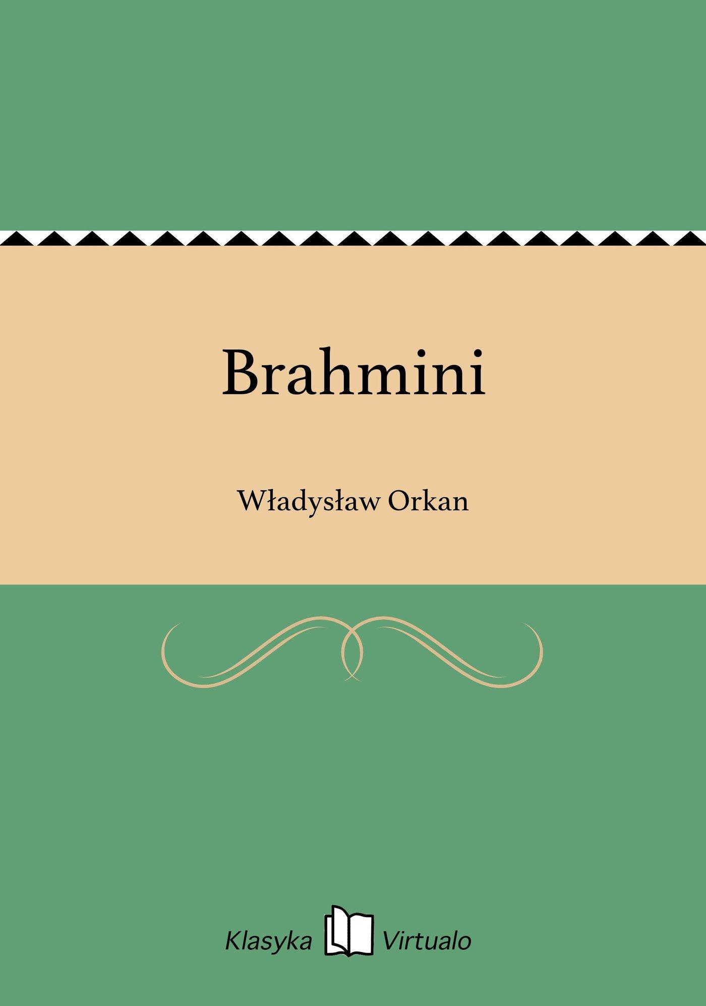 Brahmini - Ebook (Książka EPUB) do pobrania w formacie EPUB