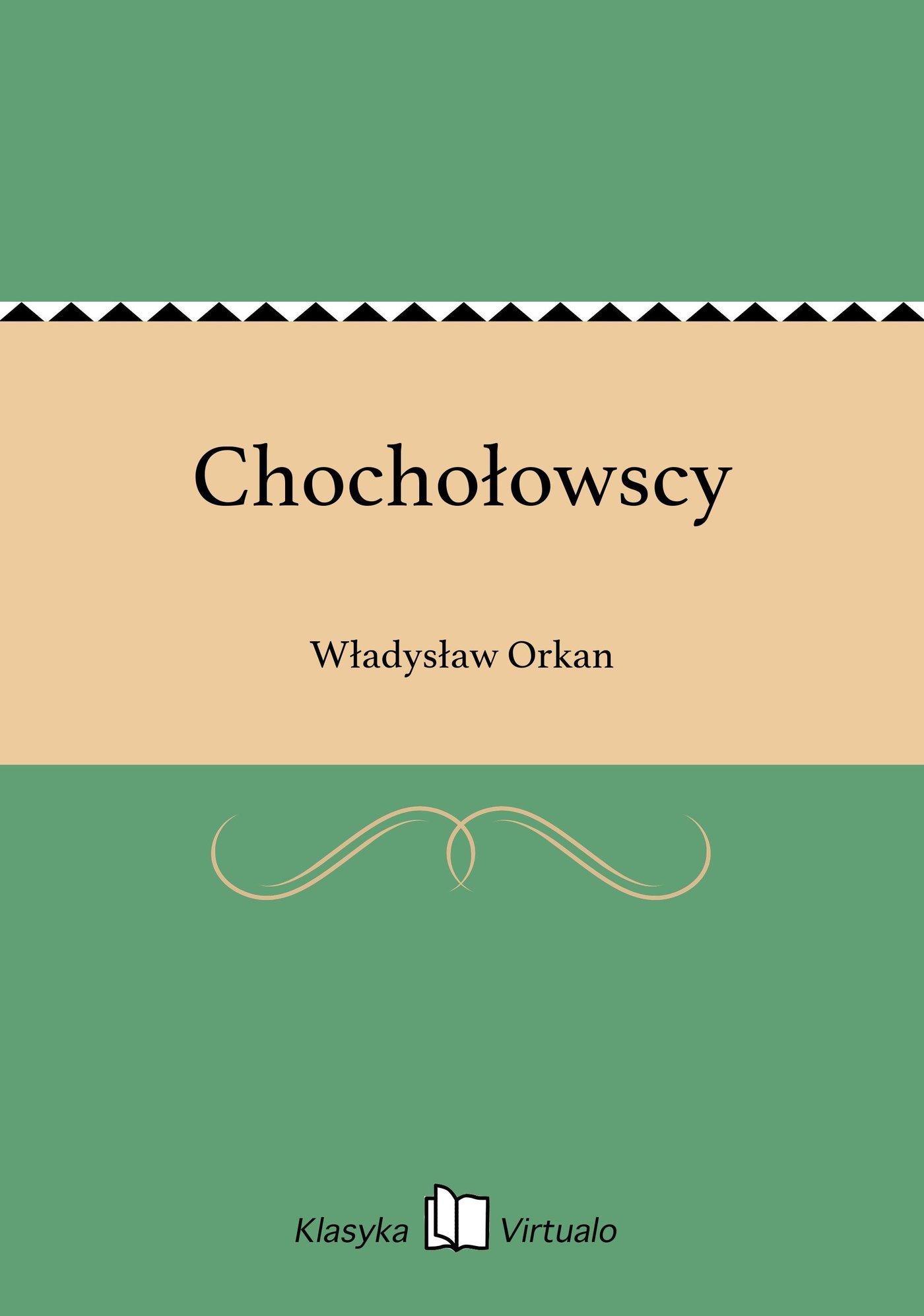 Chochołowscy - Ebook (Książka EPUB) do pobrania w formacie EPUB