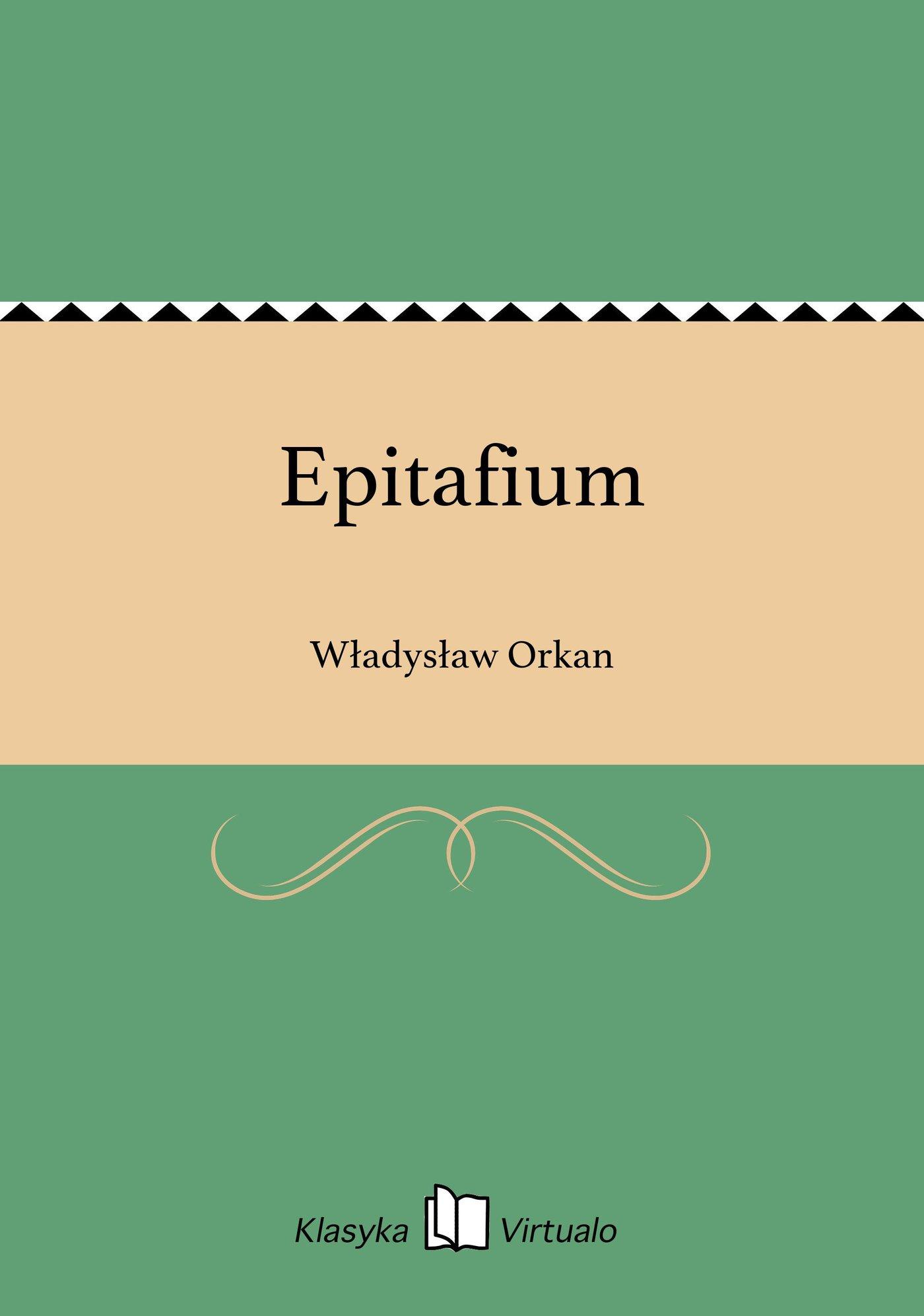 Epitafium - Ebook (Książka EPUB) do pobrania w formacie EPUB
