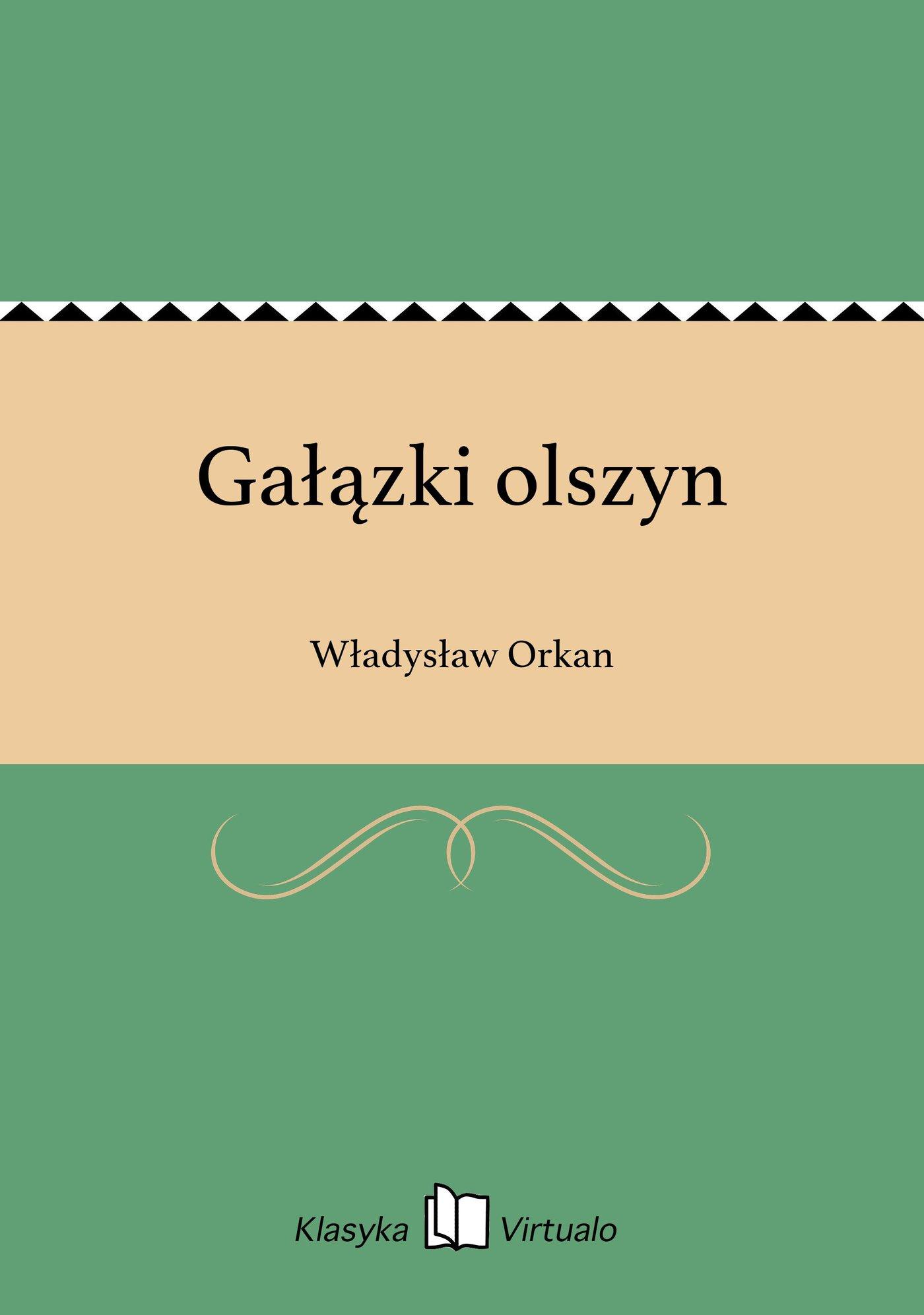Gałązki olszyn - Ebook (Książka EPUB) do pobrania w formacie EPUB