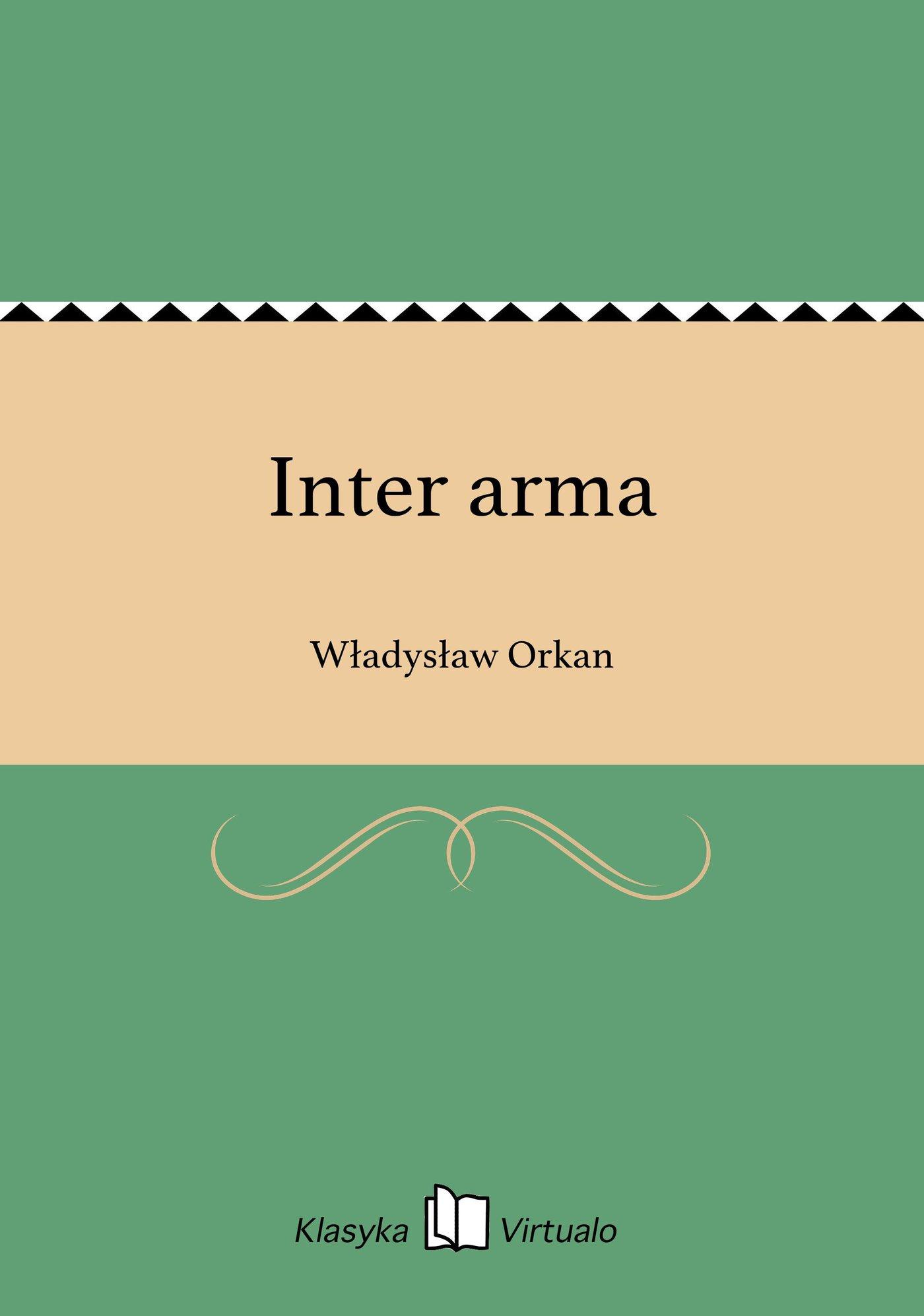Inter arma - Ebook (Książka EPUB) do pobrania w formacie EPUB