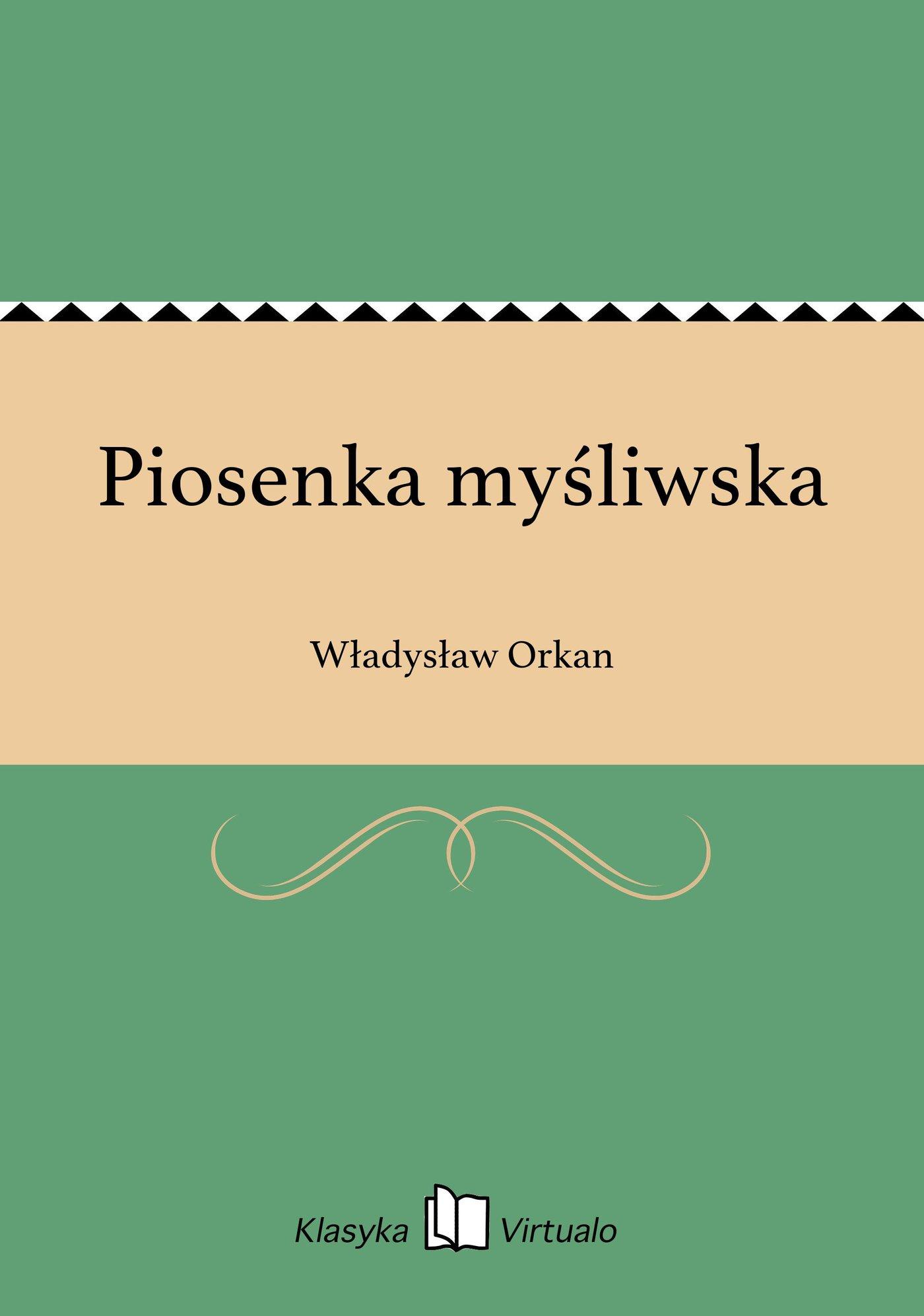 Piosenka myśliwska - Ebook (Książka EPUB) do pobrania w formacie EPUB