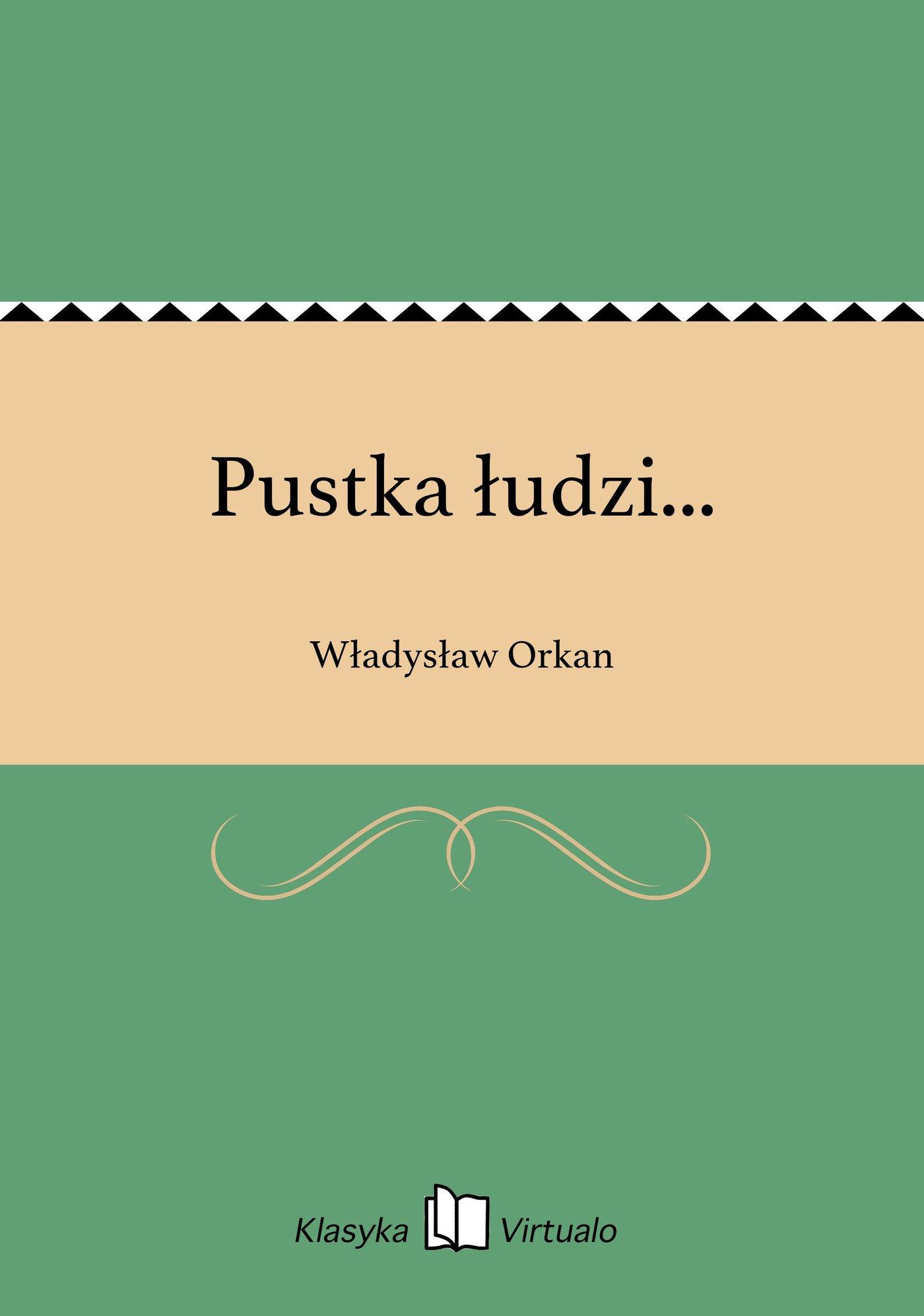 Pustka łudzi... - Ebook (Książka EPUB) do pobrania w formacie EPUB
