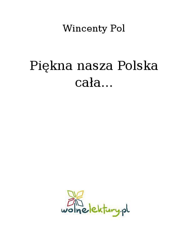 Piękna nasza Polska cała... - Ebook (Książka EPUB) do pobrania w formacie EPUB