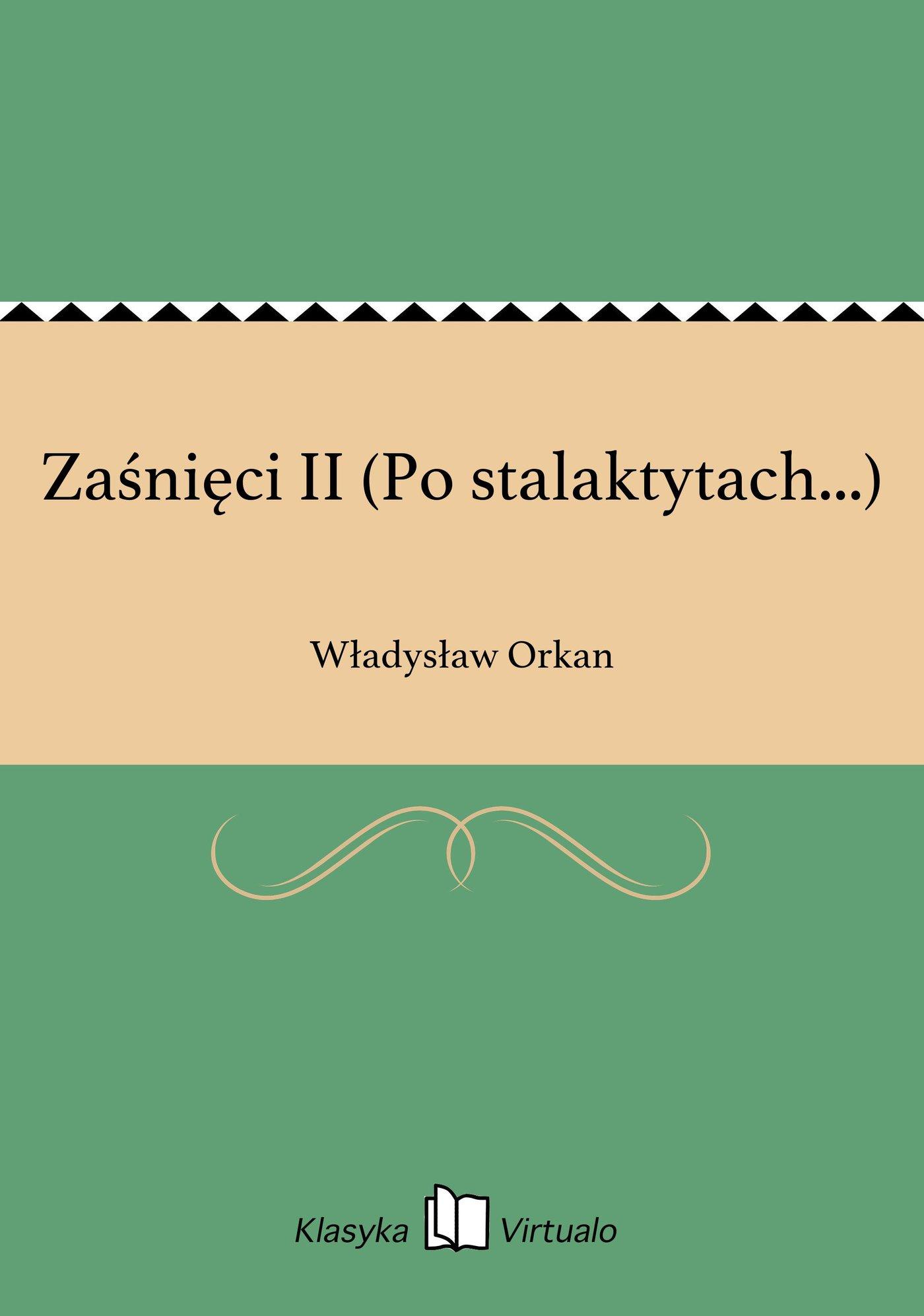 Zaśnięci II (Po stalaktytach...) - Ebook (Książka EPUB) do pobrania w formacie EPUB