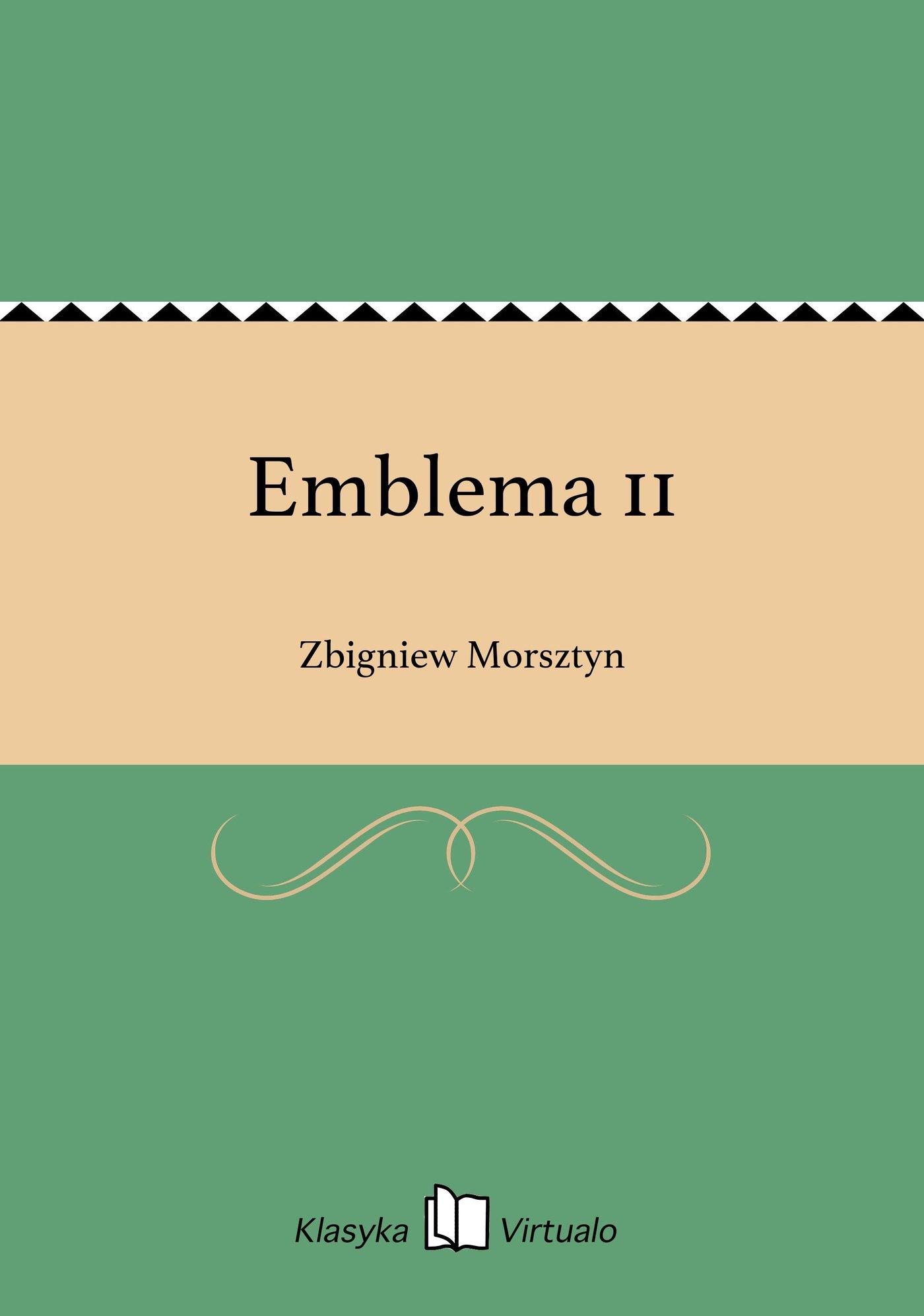 Emblema 11 - Ebook (Książka EPUB) do pobrania w formacie EPUB