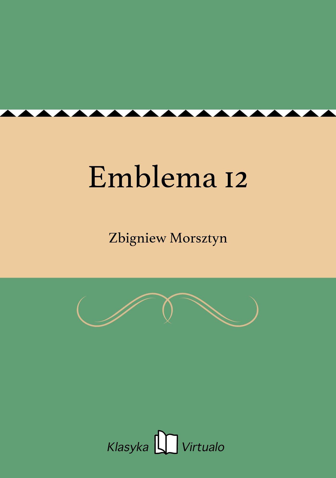Emblema 12 - Ebook (Książka EPUB) do pobrania w formacie EPUB