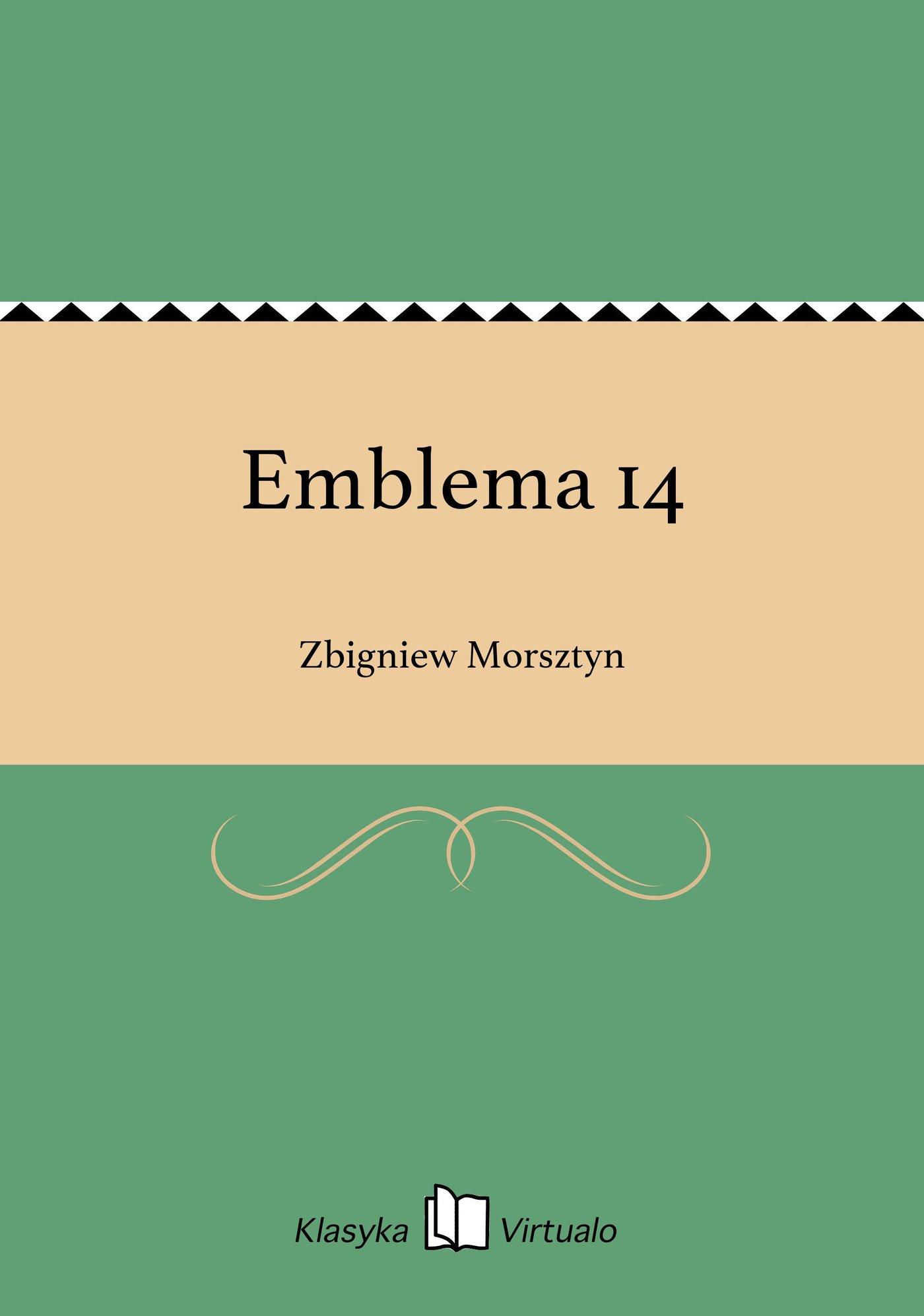 Emblema 14 - Ebook (Książka EPUB) do pobrania w formacie EPUB