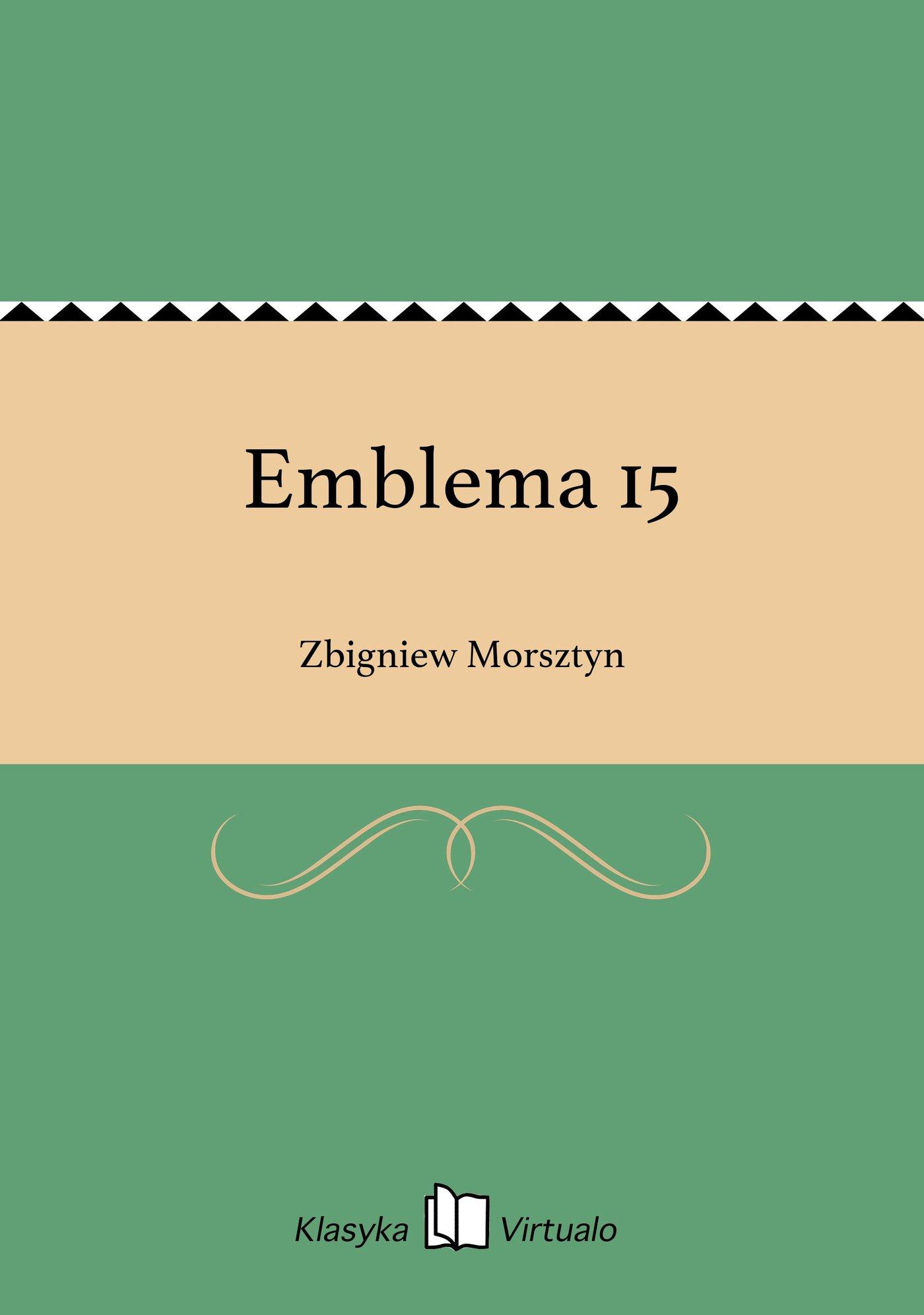 Emblema 15 - Ebook (Książka EPUB) do pobrania w formacie EPUB
