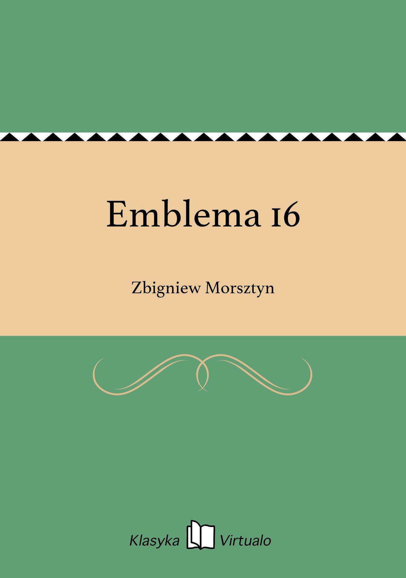 Emblema 16 - Ebook (Książka EPUB) do pobrania w formacie EPUB