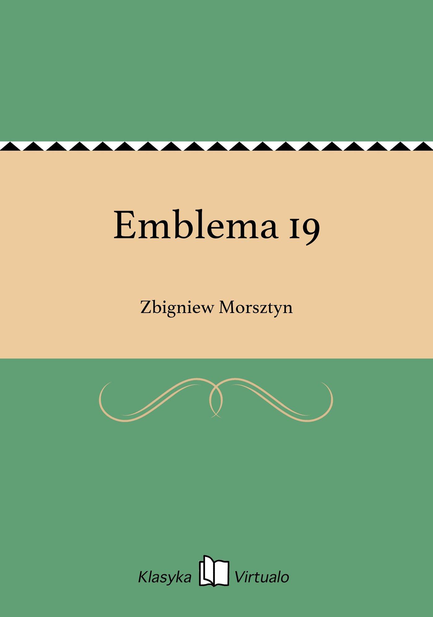 Emblema 19 - Ebook (Książka EPUB) do pobrania w formacie EPUB