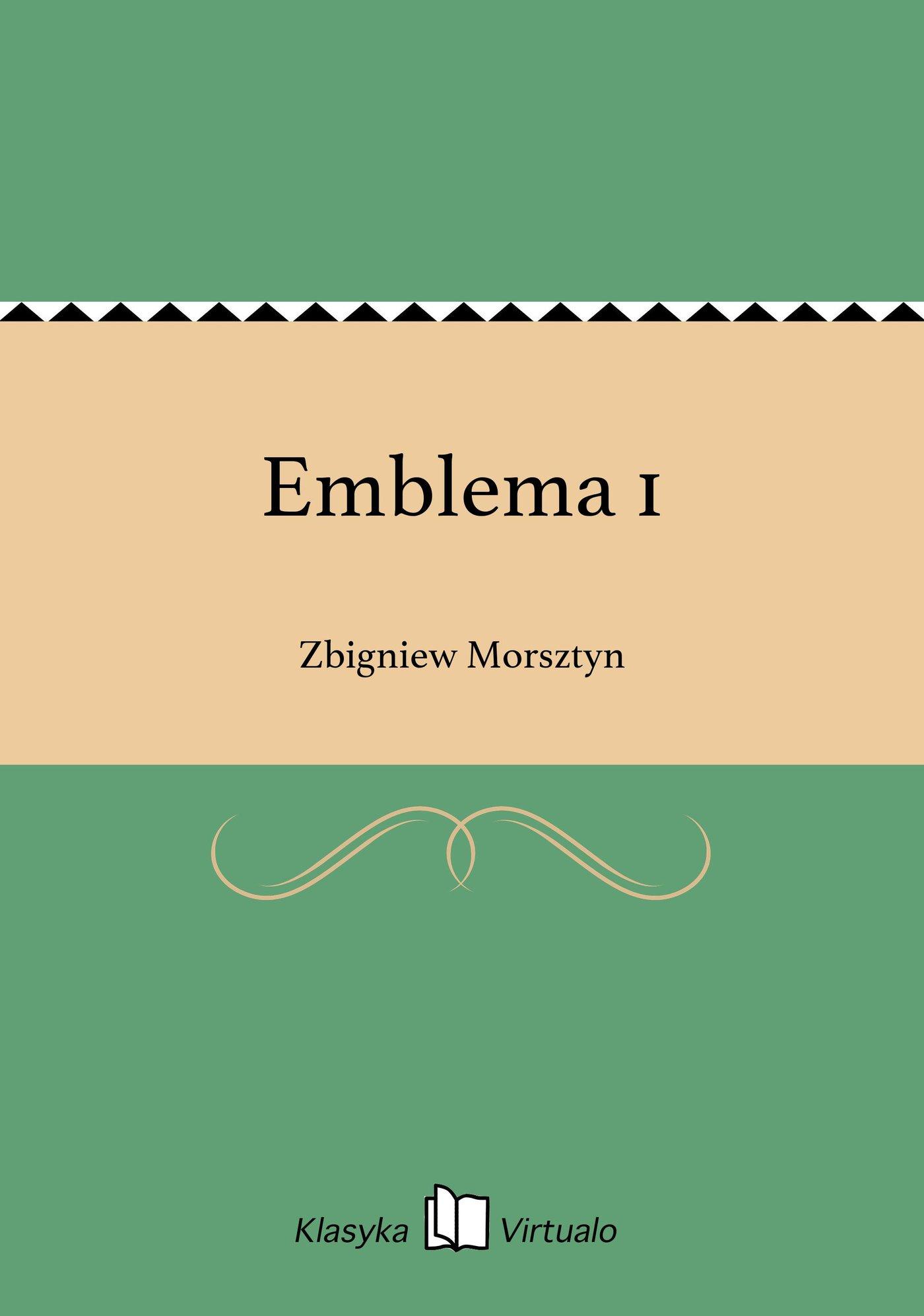 Emblema 1 - Ebook (Książka EPUB) do pobrania w formacie EPUB