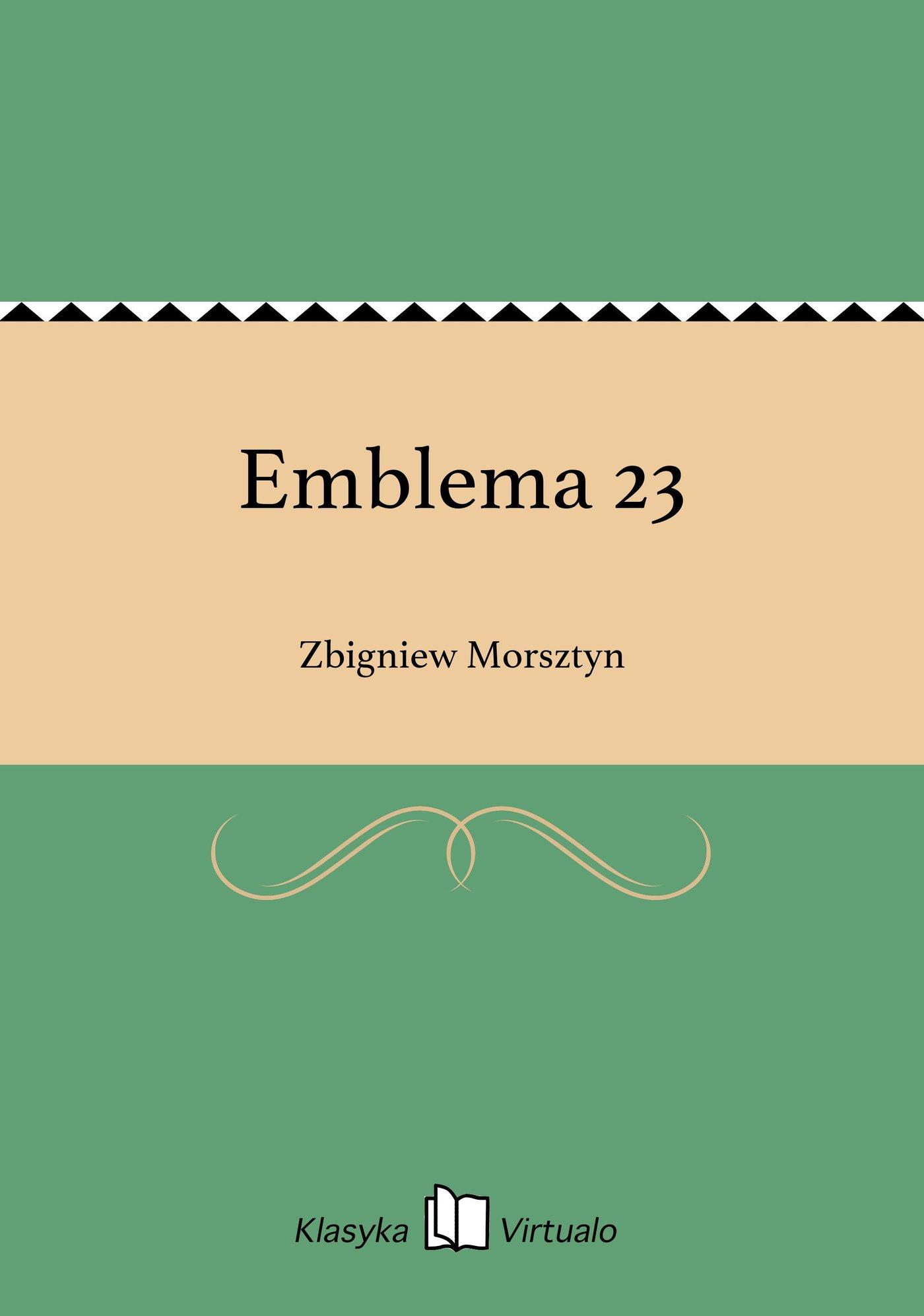 Emblema 23 - Ebook (Książka EPUB) do pobrania w formacie EPUB