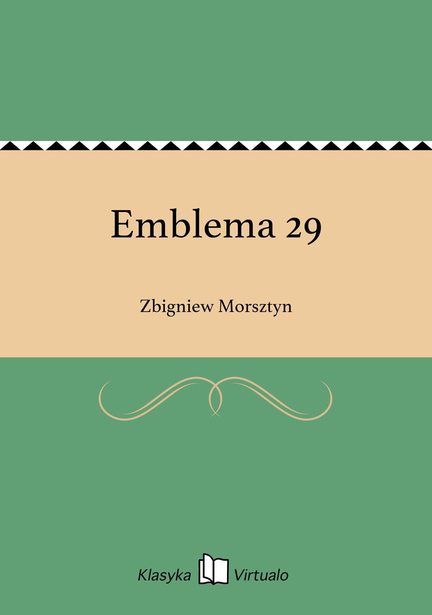 Emblema 29 - Ebook (Książka EPUB) do pobrania w formacie EPUB