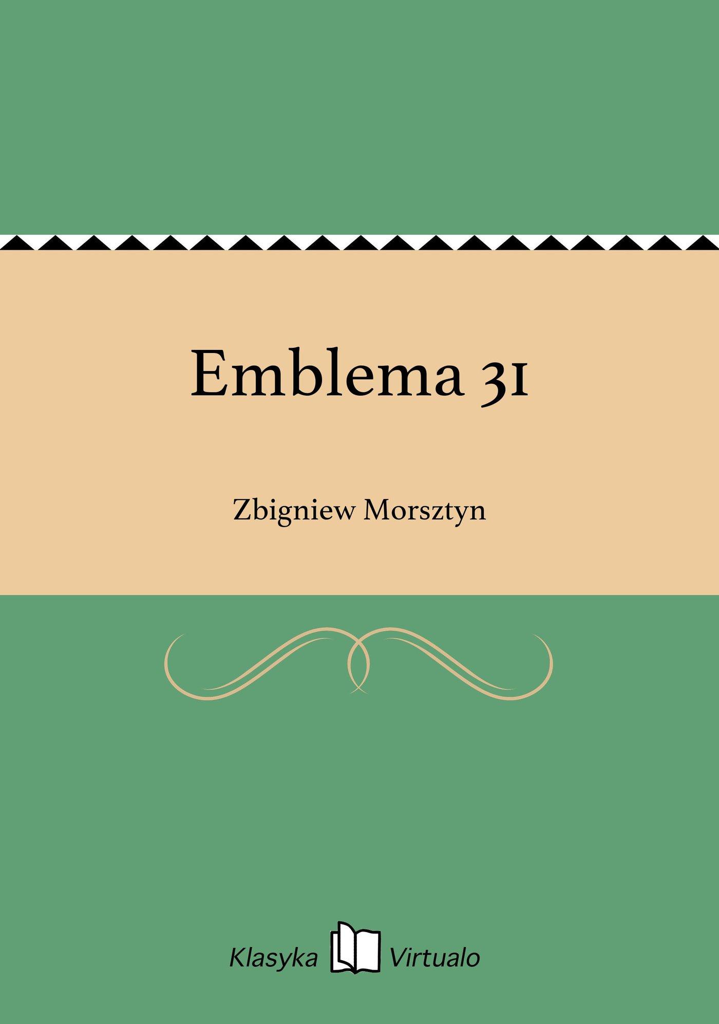 Emblema 31 - Ebook (Książka EPUB) do pobrania w formacie EPUB