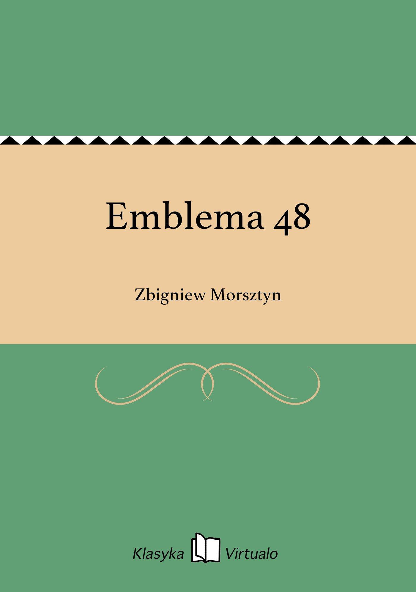 Emblema 48 - Ebook (Książka EPUB) do pobrania w formacie EPUB