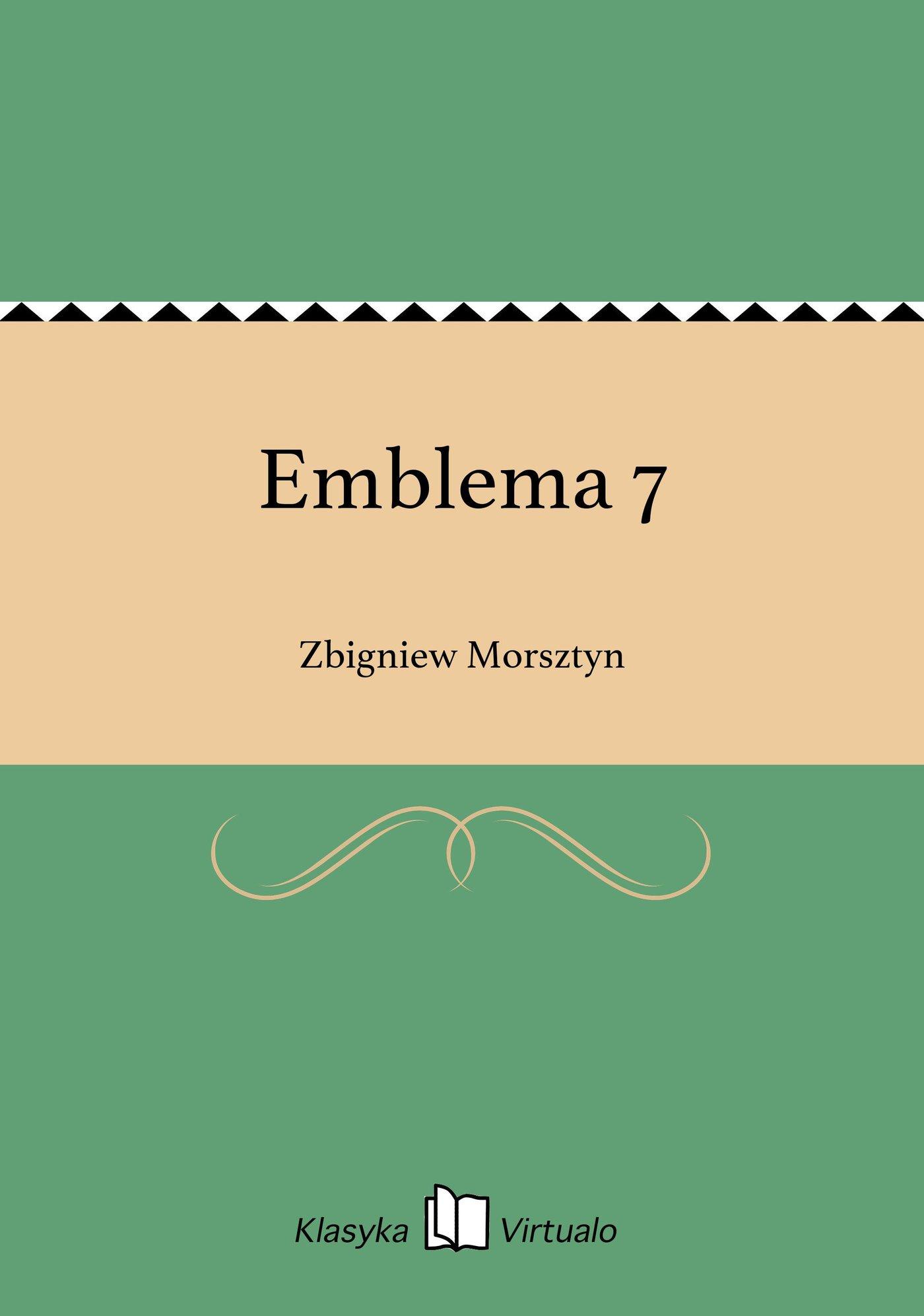 Emblema 7 - Ebook (Książka EPUB) do pobrania w formacie EPUB