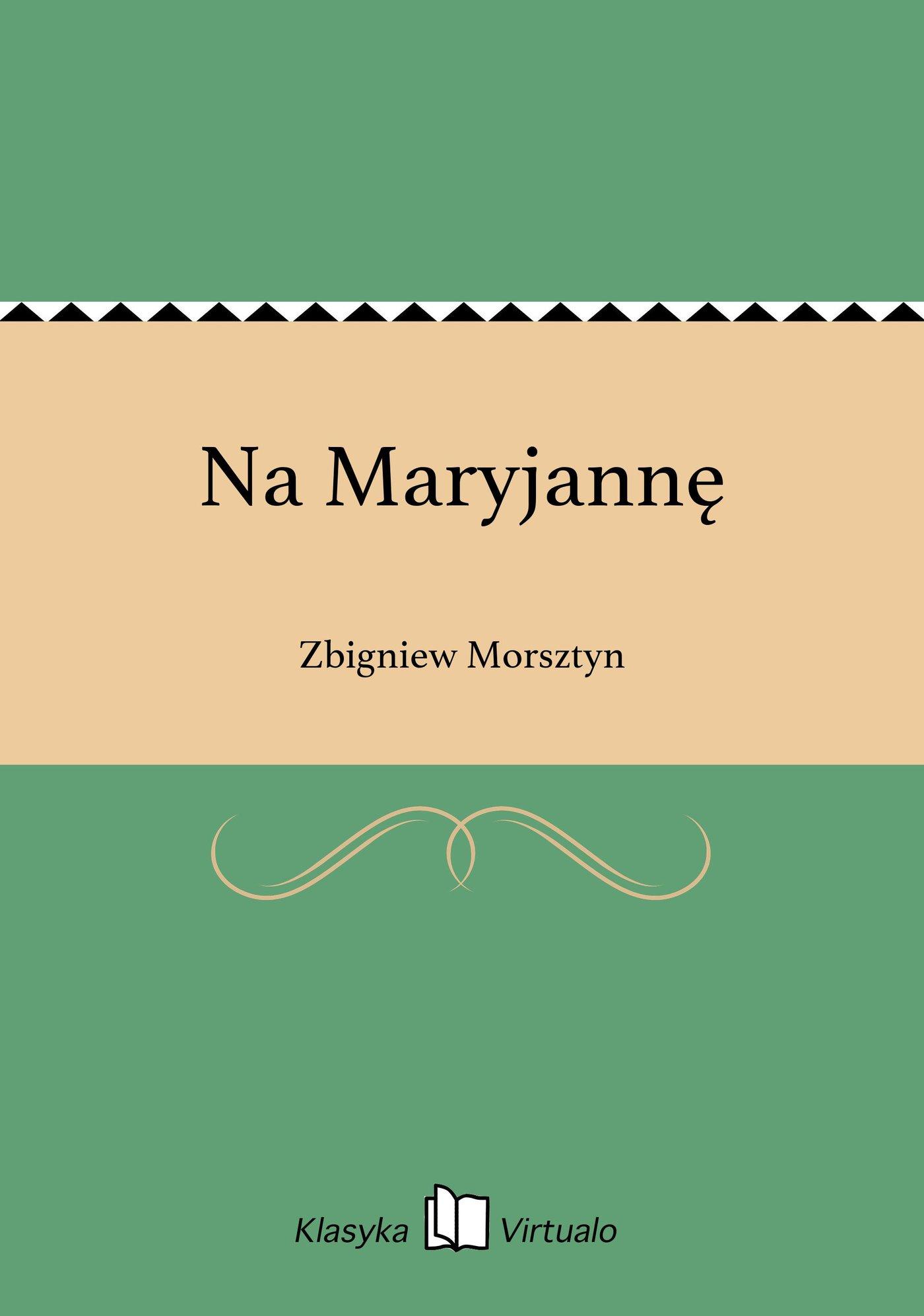 Na Maryjannę - Ebook (Książka EPUB) do pobrania w formacie EPUB