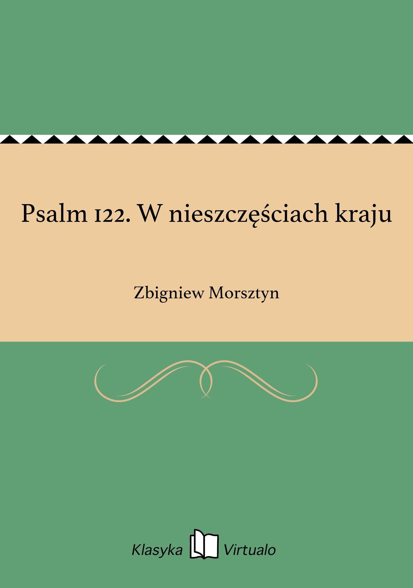 Psalm 122. W nieszczęściach kraju - Ebook (Książka EPUB) do pobrania w formacie EPUB