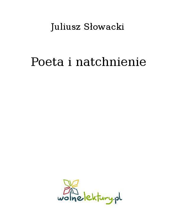 Poeta i natchnienie - Ebook (Książka EPUB) do pobrania w formacie EPUB