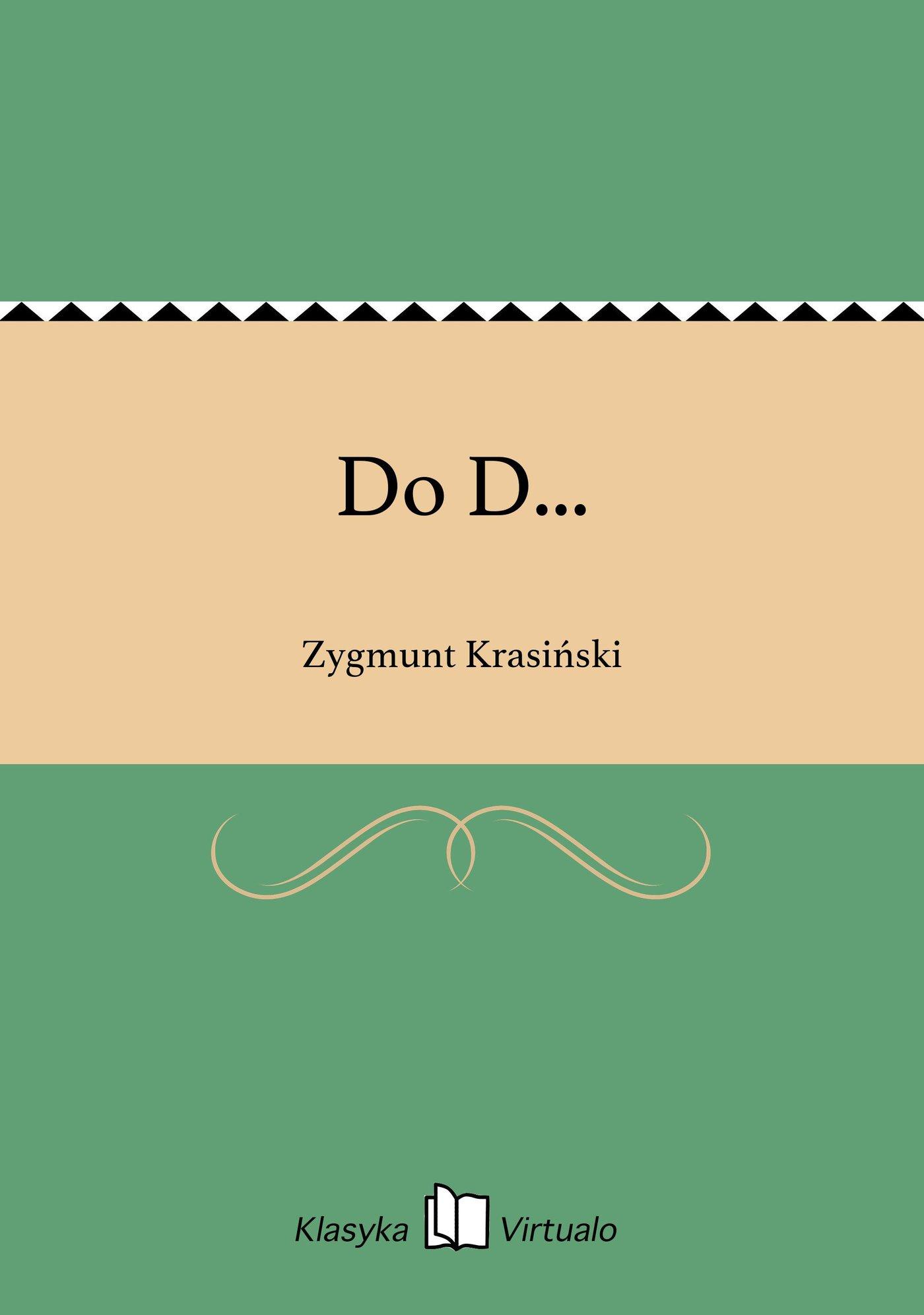 Do D... - Ebook (Książka EPUB) do pobrania w formacie EPUB