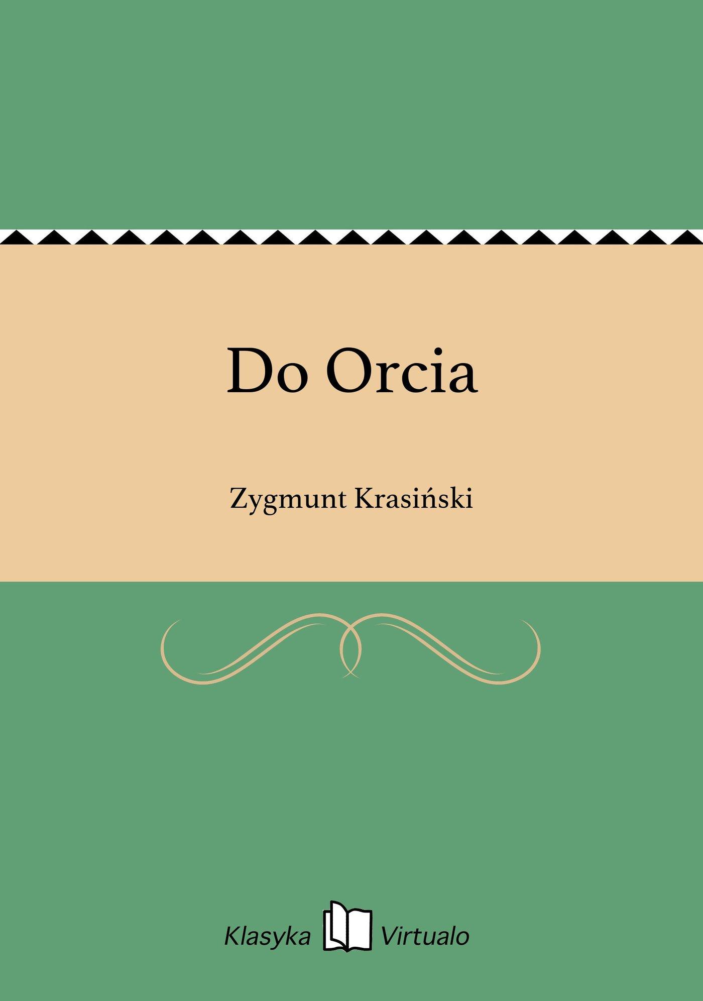 Do Orcia - Ebook (Książka EPUB) do pobrania w formacie EPUB