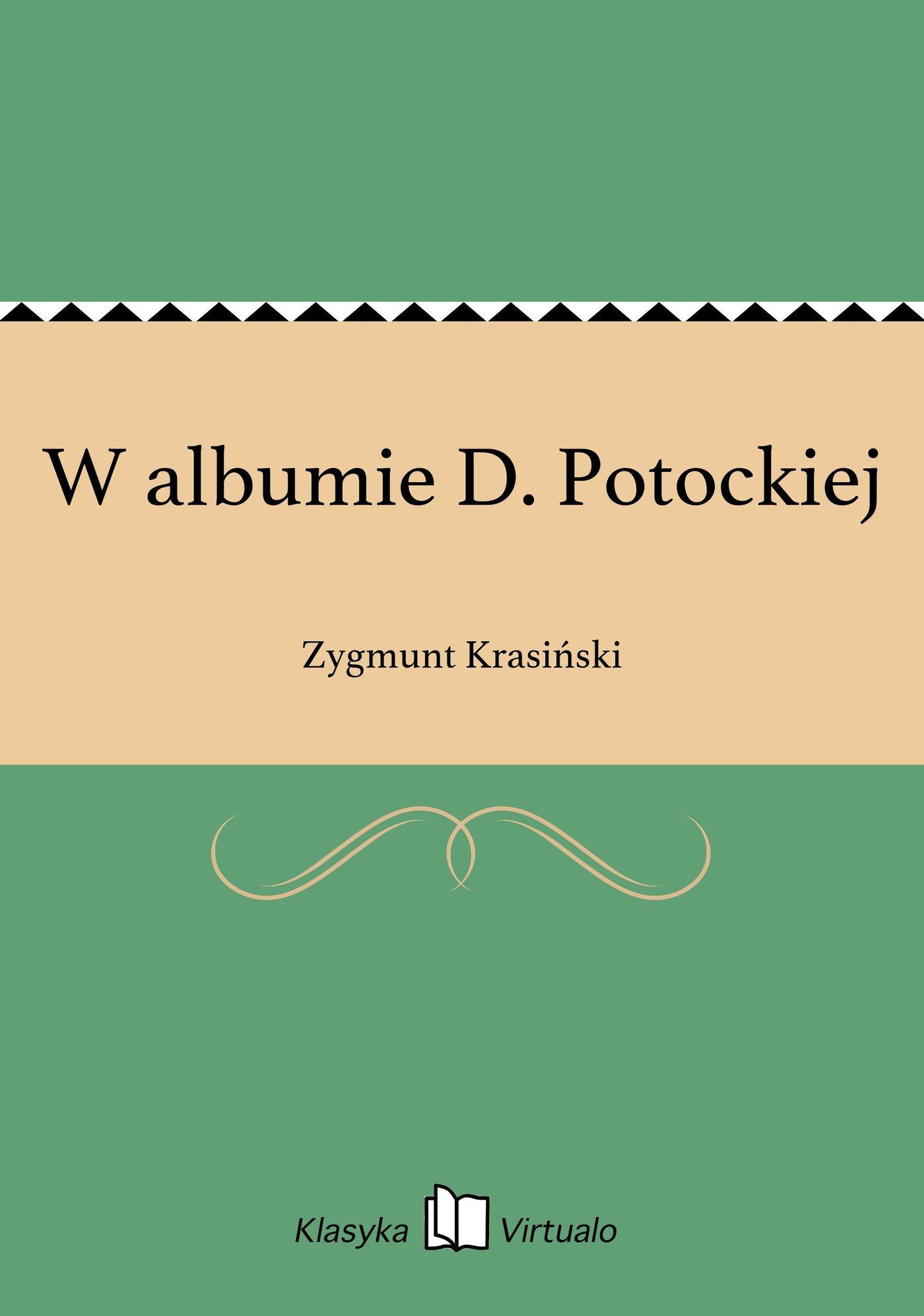 W albumie D. Potockiej - Ebook (Książka EPUB) do pobrania w formacie EPUB