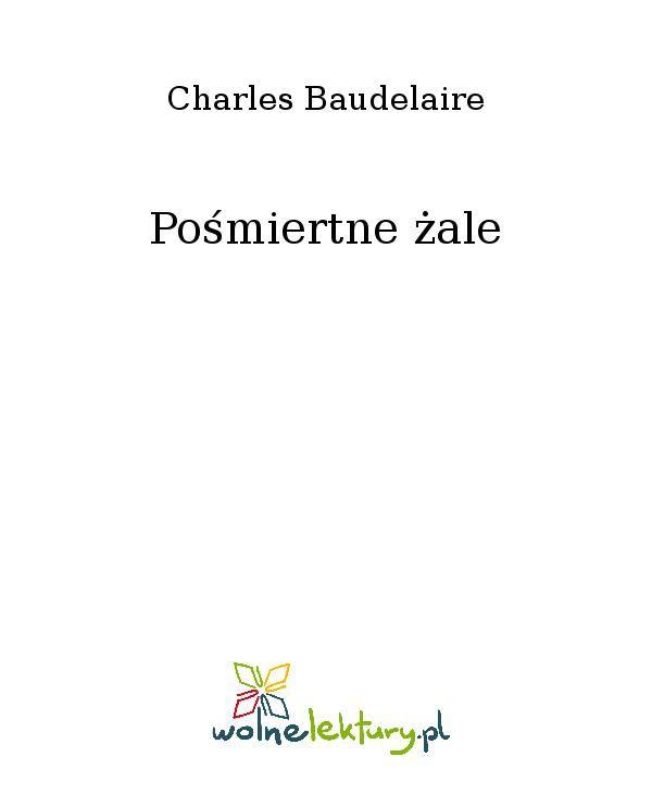 Pośmiertne żale - Ebook (Książka EPUB) do pobrania w formacie EPUB