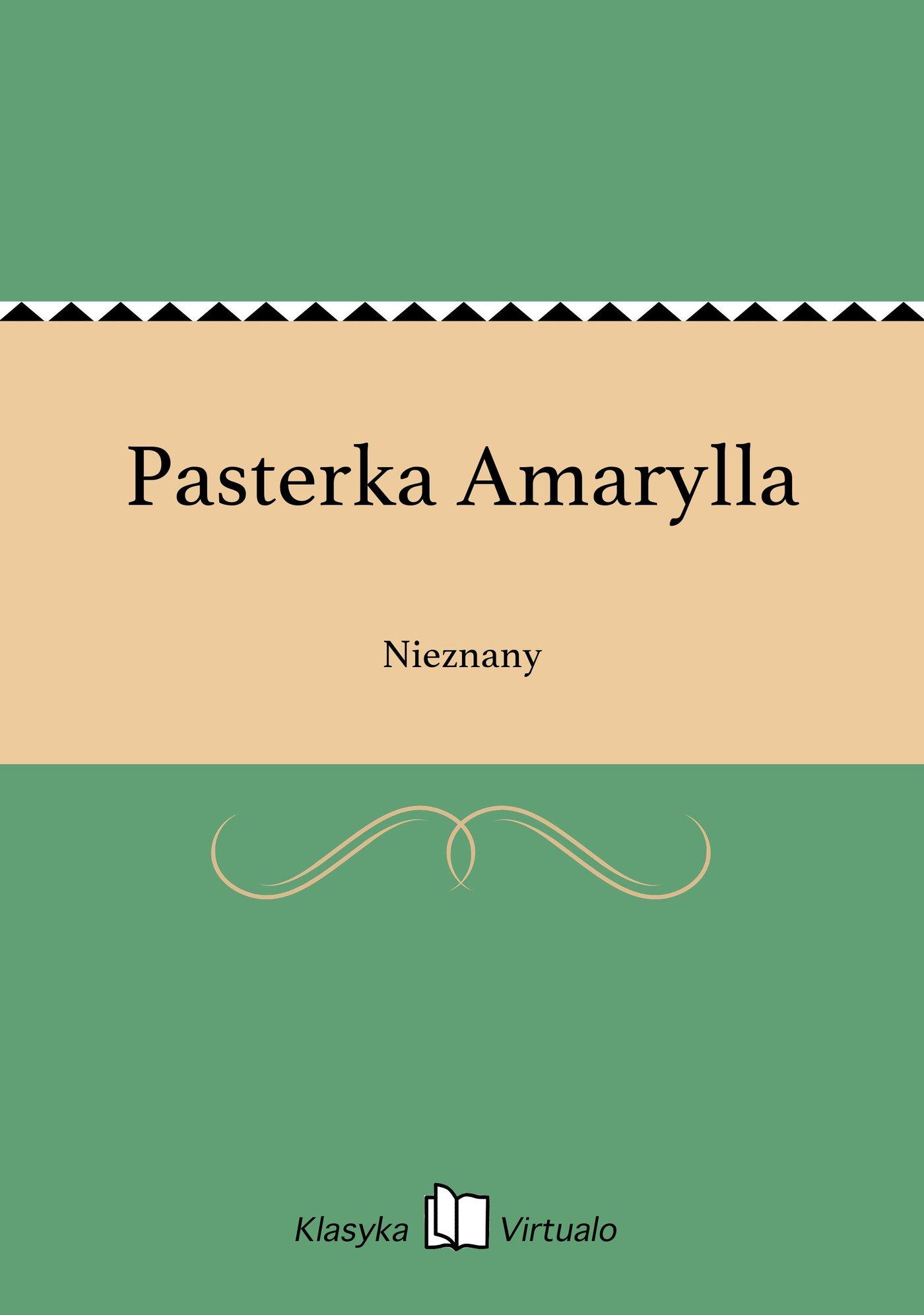 Pasterka Amarylla - Ebook (Książka EPUB) do pobrania w formacie EPUB