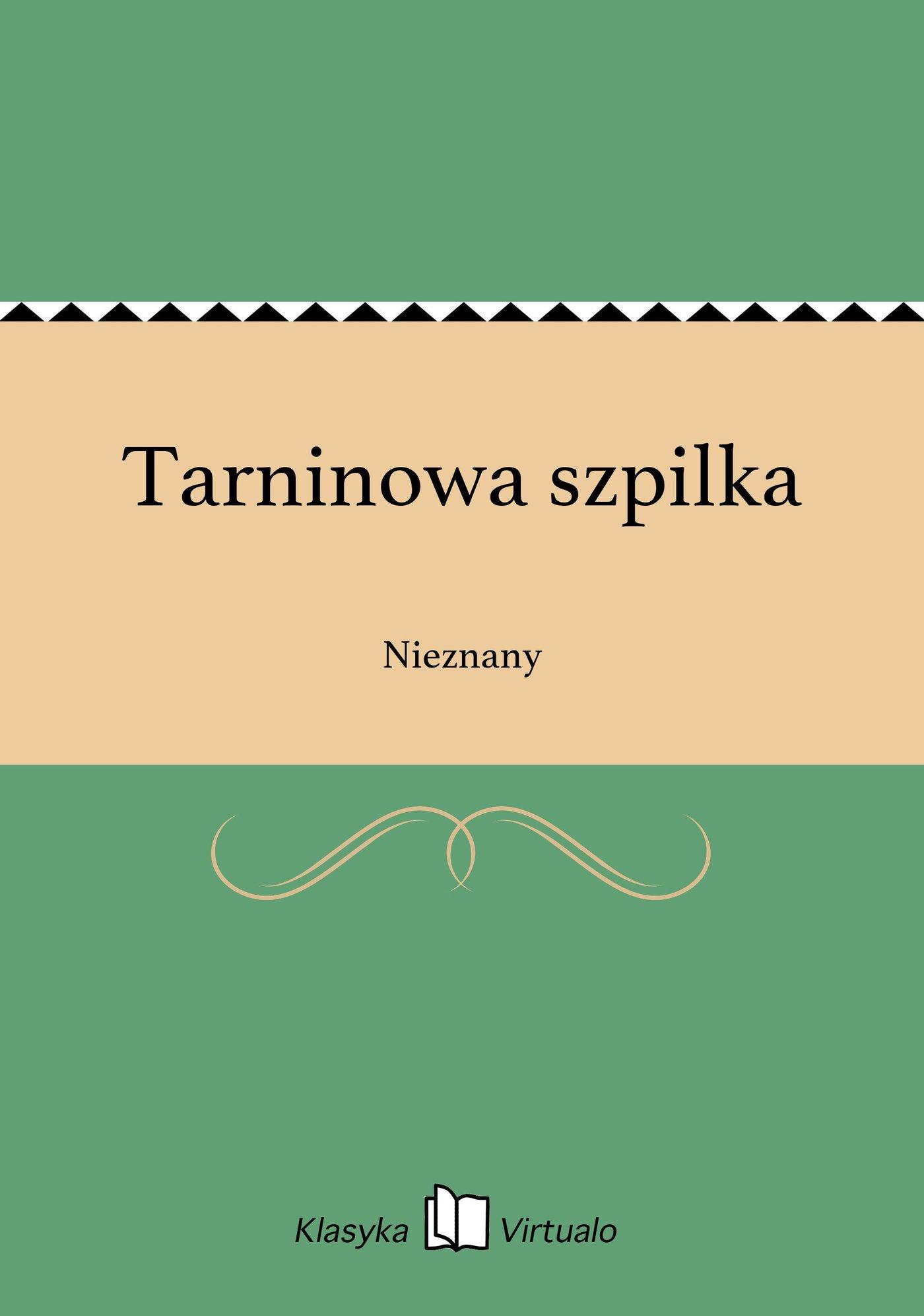 Tarninowa szpilka - Ebook (Książka EPUB) do pobrania w formacie EPUB