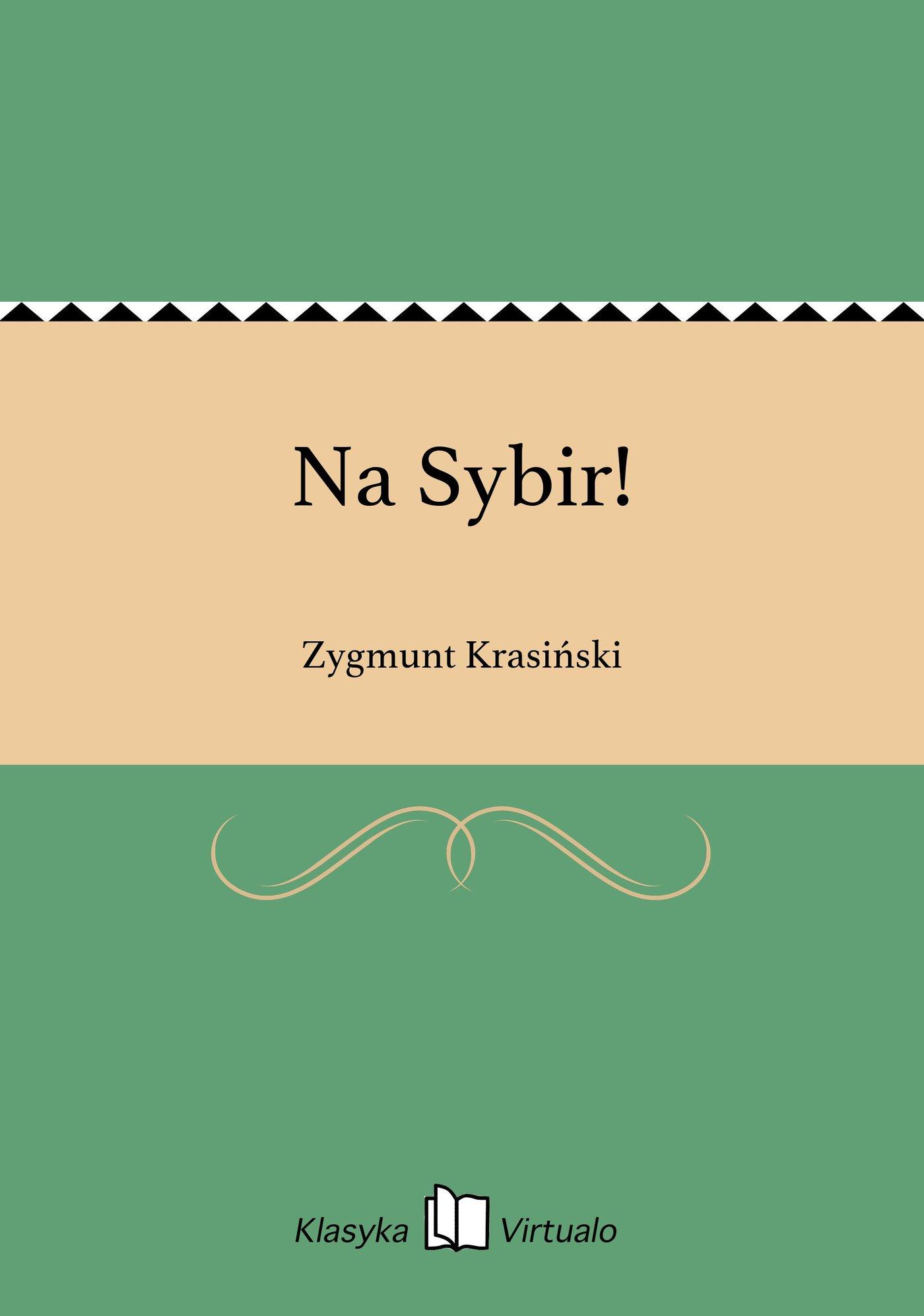 Na Sybir! - Ebook (Książka EPUB) do pobrania w formacie EPUB