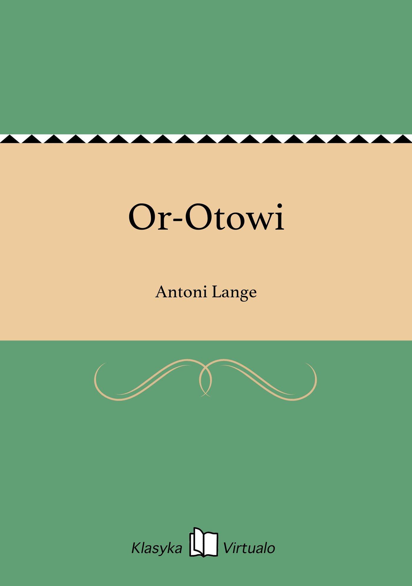 Or-Otowi - Ebook (Książka EPUB) do pobrania w formacie EPUB