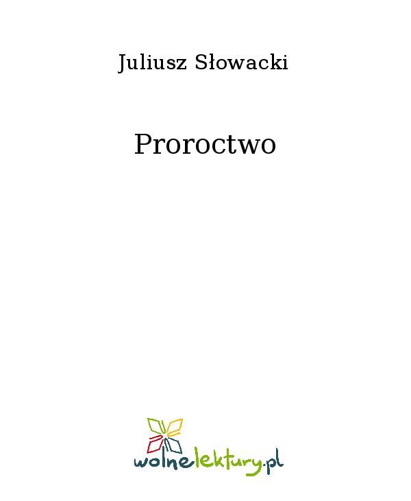 Proroctwo - Ebook (Książka EPUB) do pobrania w formacie EPUB