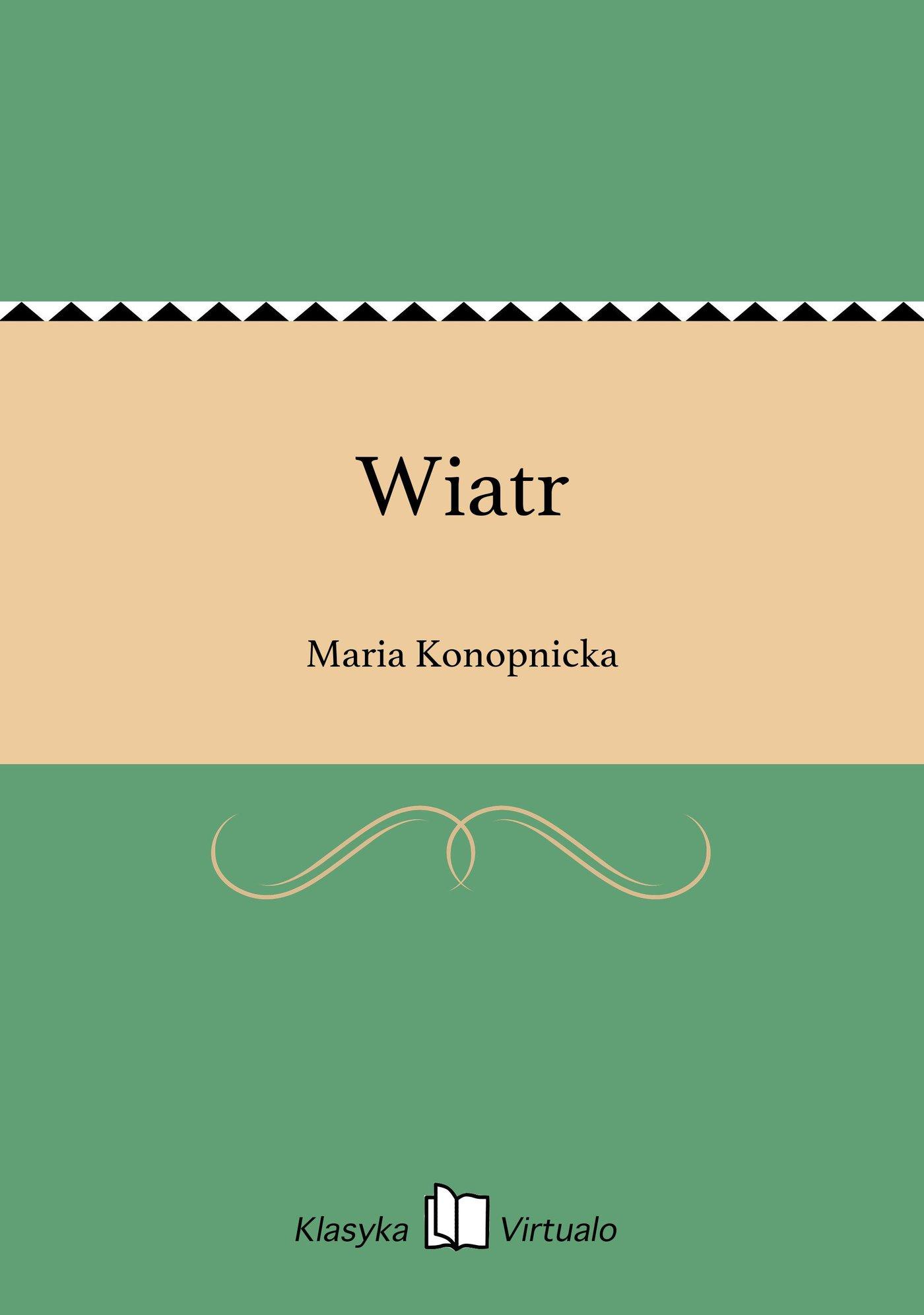 Wiatr - Ebook (Książka EPUB) do pobrania w formacie EPUB