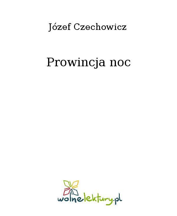 Prowincja noc - Ebook (Książka EPUB) do pobrania w formacie EPUB