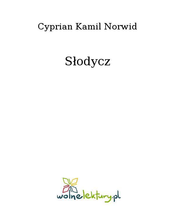 Słodycz - Ebook (Książka EPUB) do pobrania w formacie EPUB