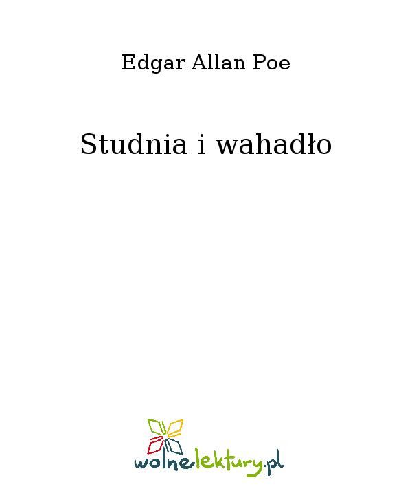 Studnia i wahadło - Ebook (Książka EPUB) do pobrania w formacie EPUB