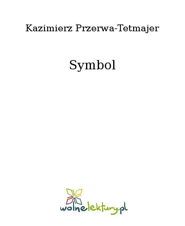 Symbol - Ebook (Książka EPUB) do pobrania w formacie EPUB