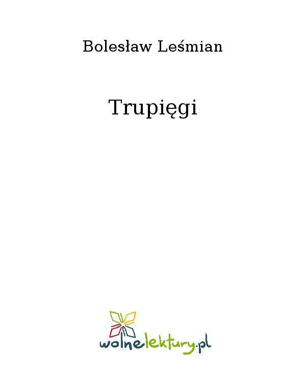 Trupięgi - Ebook (Książka EPUB) do pobrania w formacie EPUB