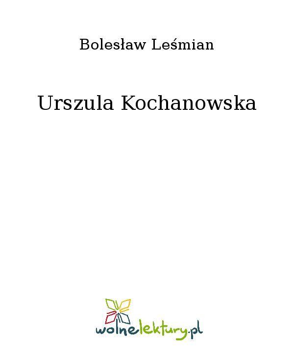Urszula Kochanowska - Ebook (Książka EPUB) do pobrania w formacie EPUB